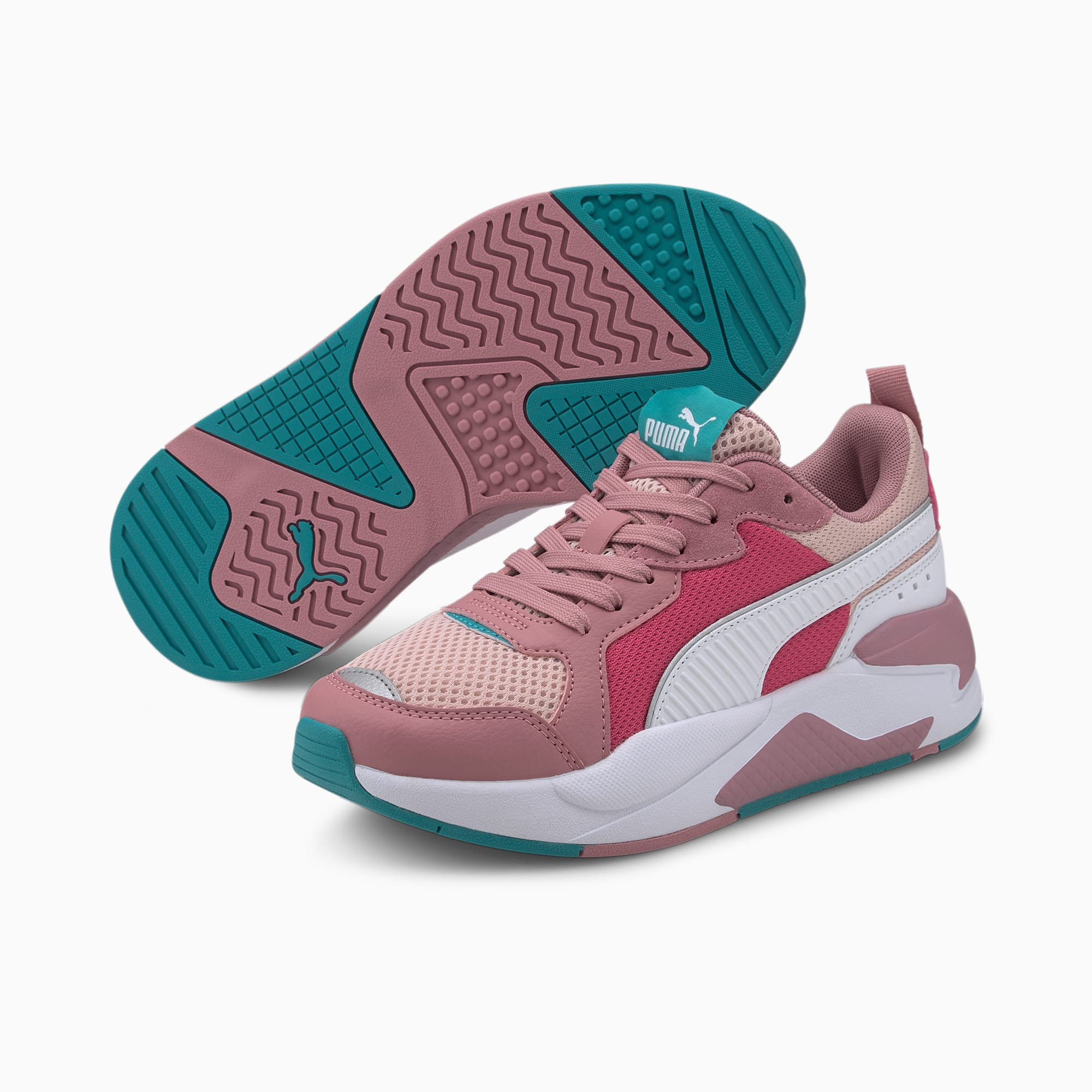 Scarpe da ginnastica X-Ray Youth, Peachskin-Wht-Foxglove-Pink, extralarge