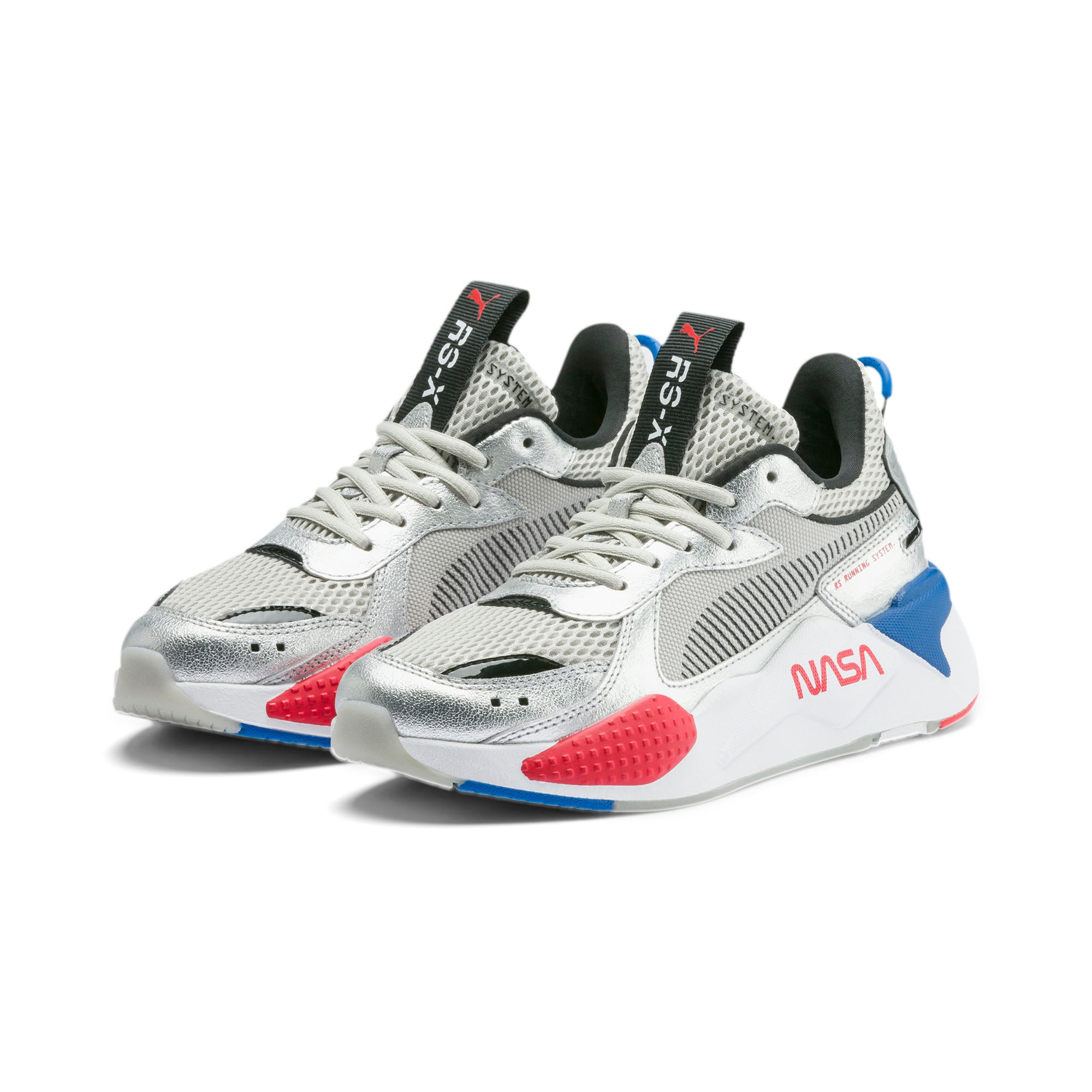 Thumbnail 2 of RS-X Space Explorer Youth Trainers, Puma Silver-Gray Violet, medium