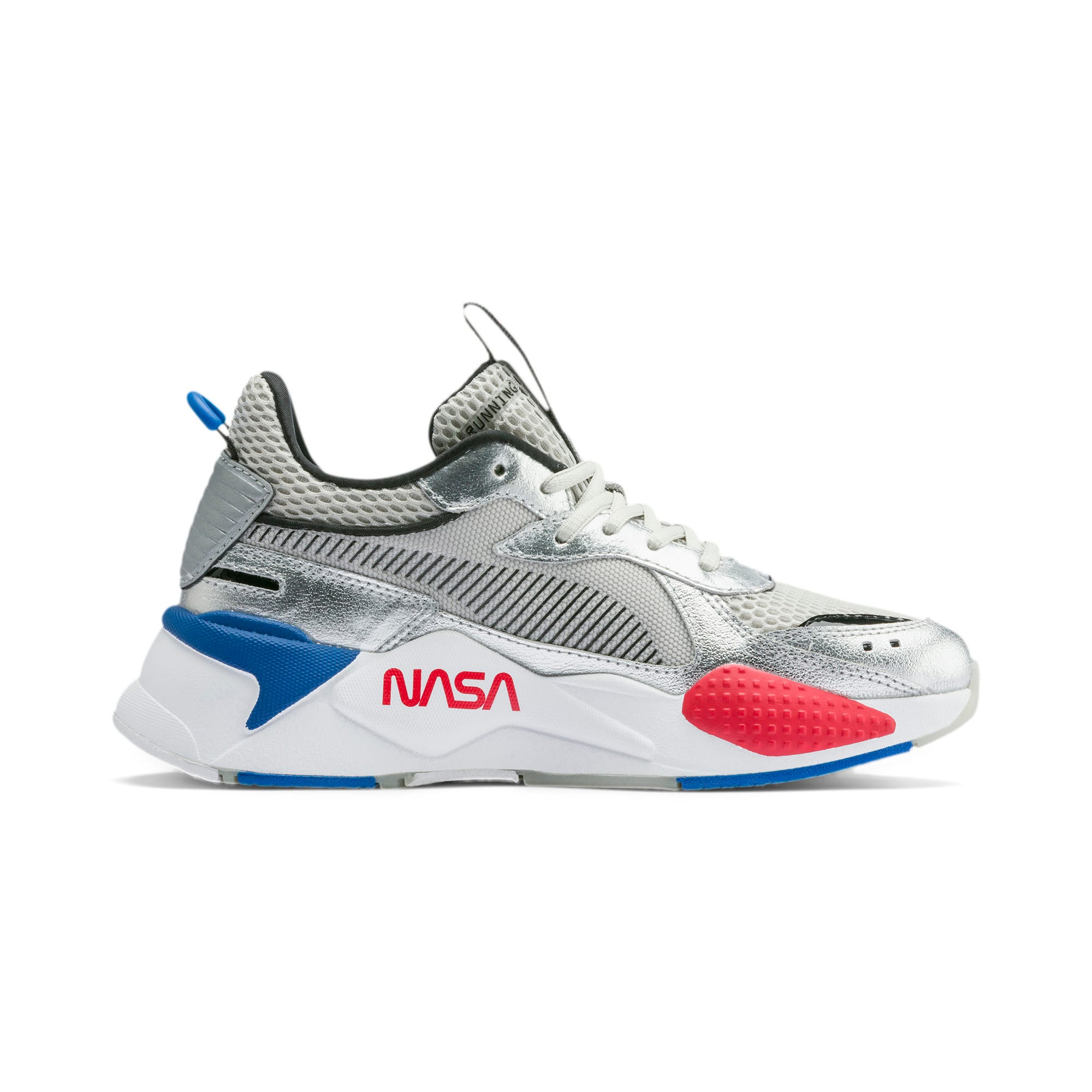 Thumbnail 5 of RS-X Space Explorer Youth Trainers, Puma Silver-Gray Violet, medium