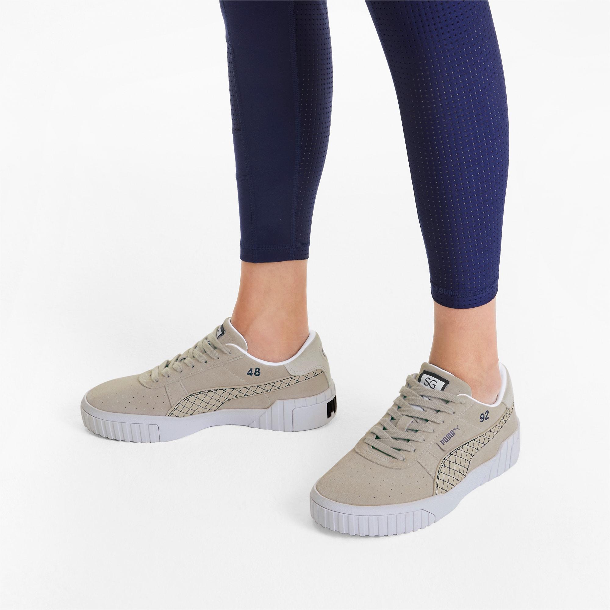 PUMA x SELENA GOMEZ Cali Suede Quilt Damen Sneaker