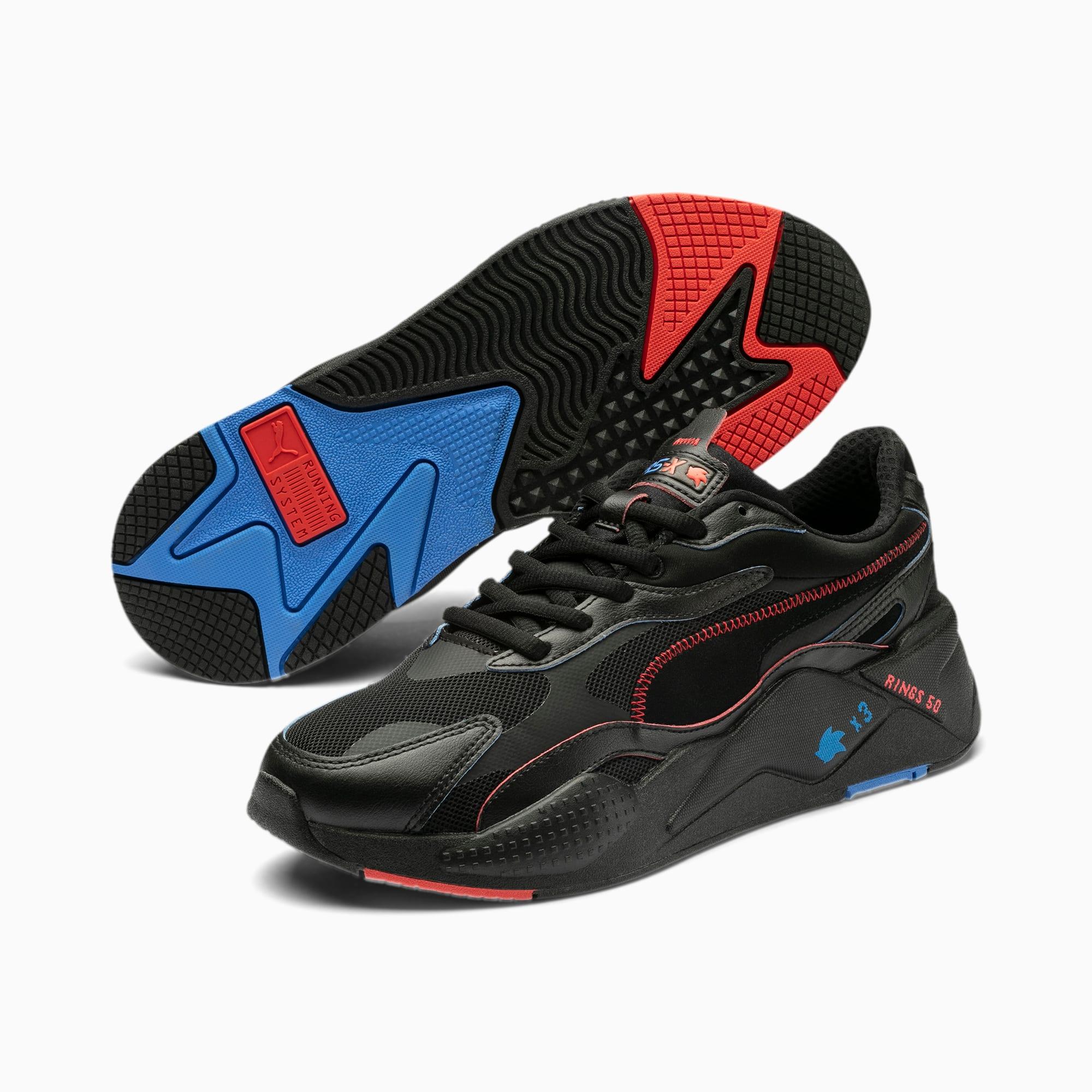 PUMA x SONIC RS X Black Trainers