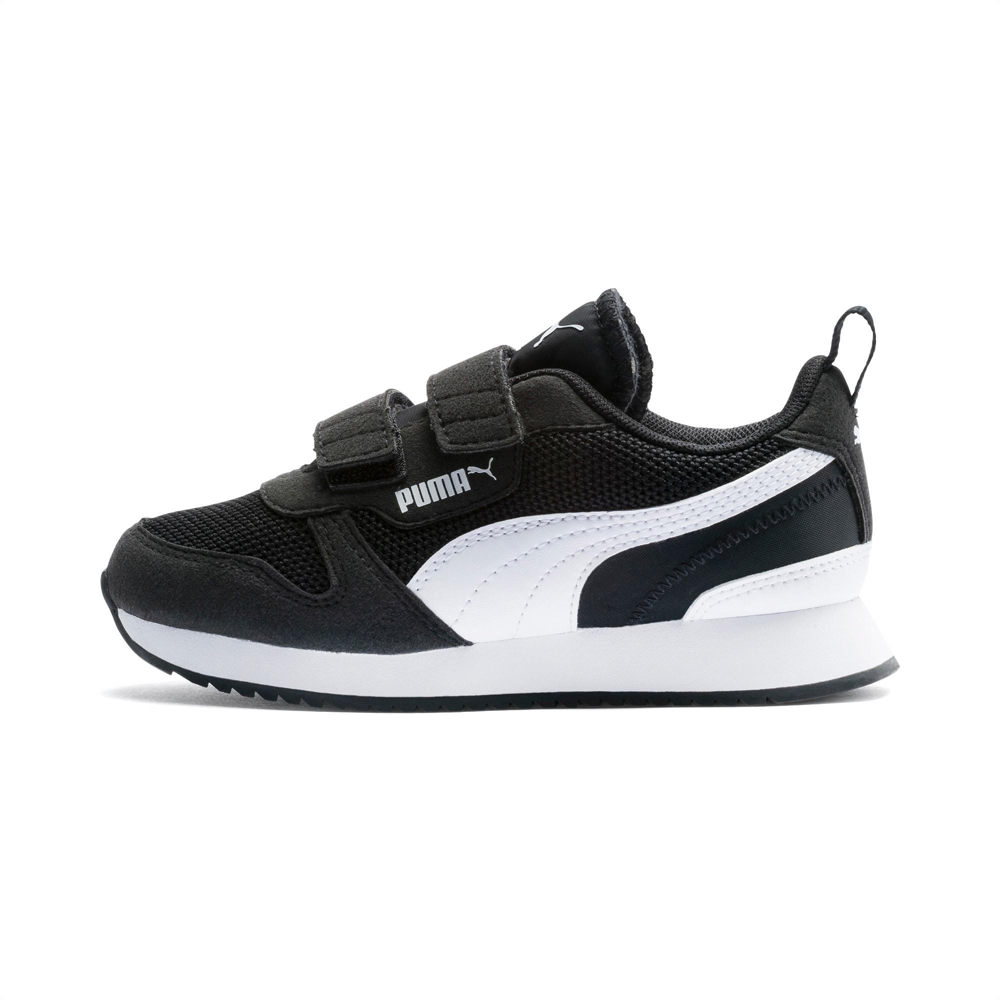 R78 Kids' Trainers   Puma Black-Puma White   PUMA Shoes   PUMA United  Kingdom