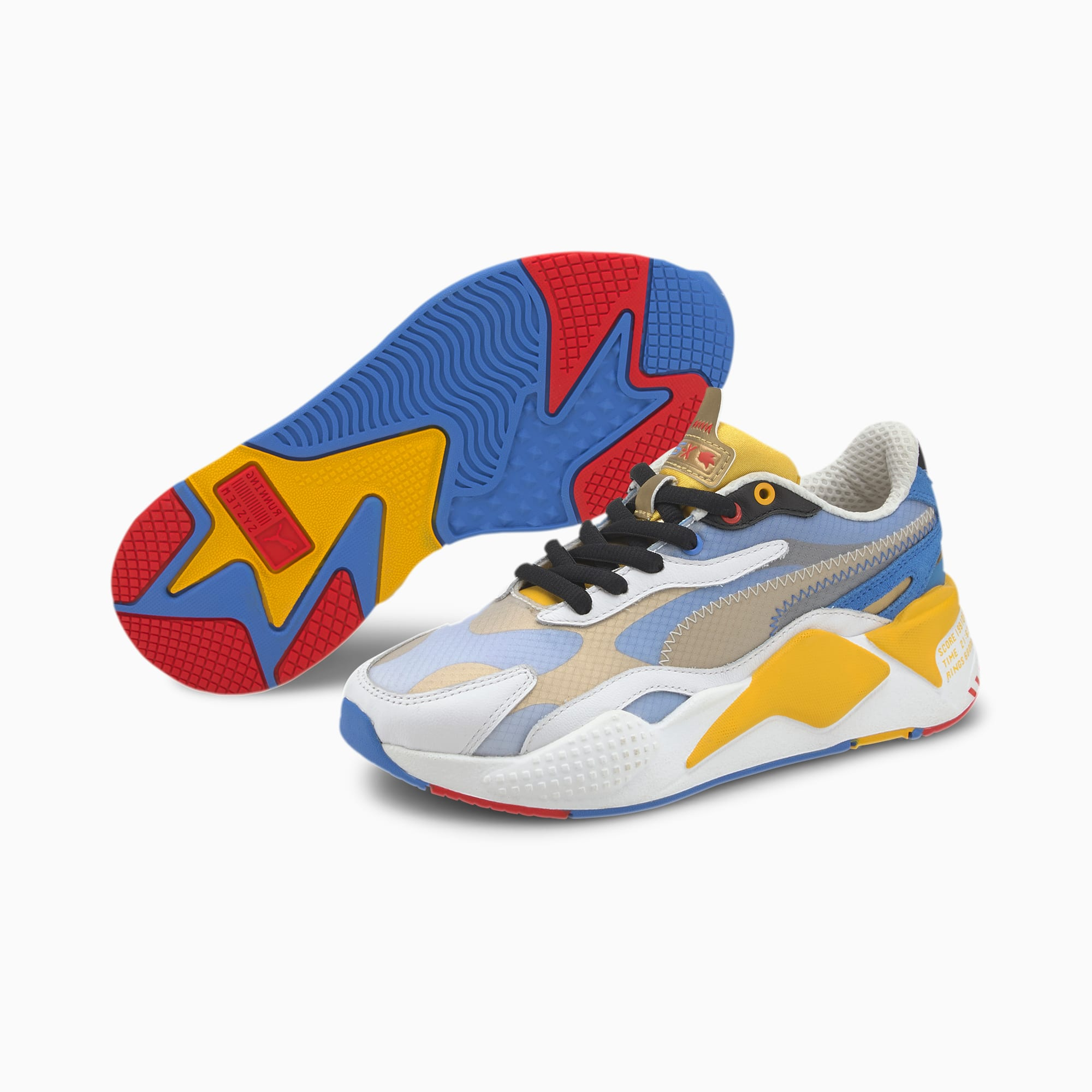 PUMA x SONIC RS X³ Color Sneakers JR
