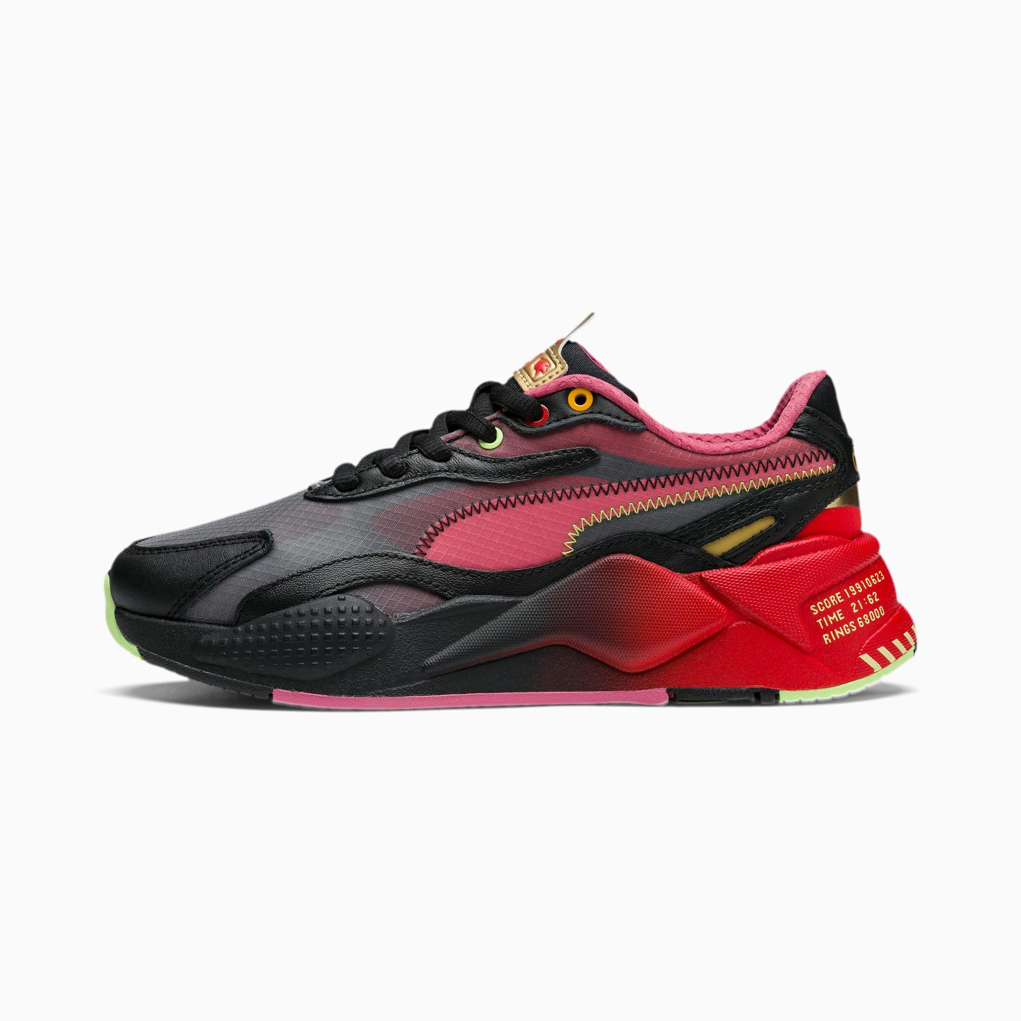 Młodzieżowe buty sportowe PUMA x SONIC Suede