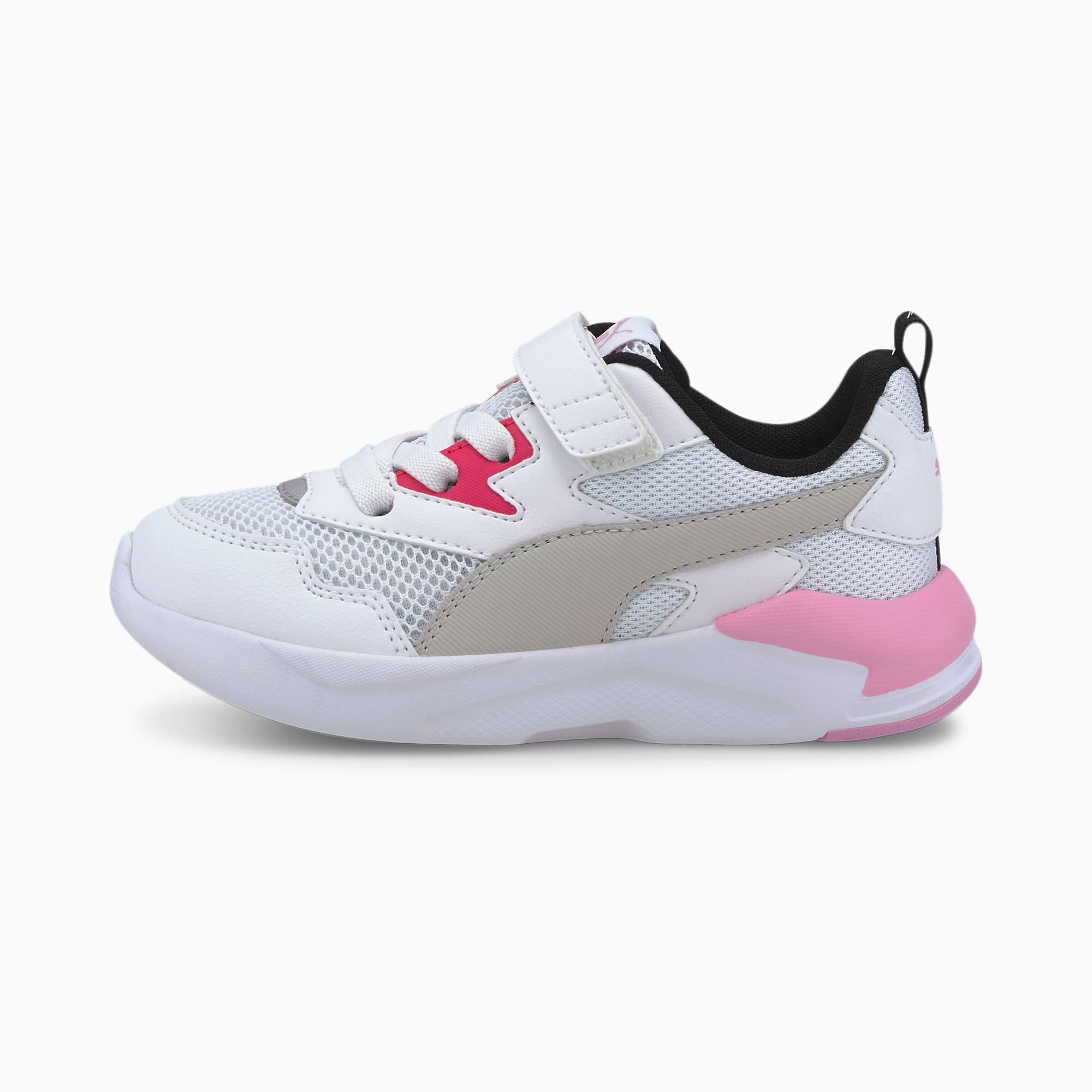 X-Ray Lite IMEVA Kids' Shoes   White-Gray-Pink-Black-Silver   PUMA Kids    PUMA