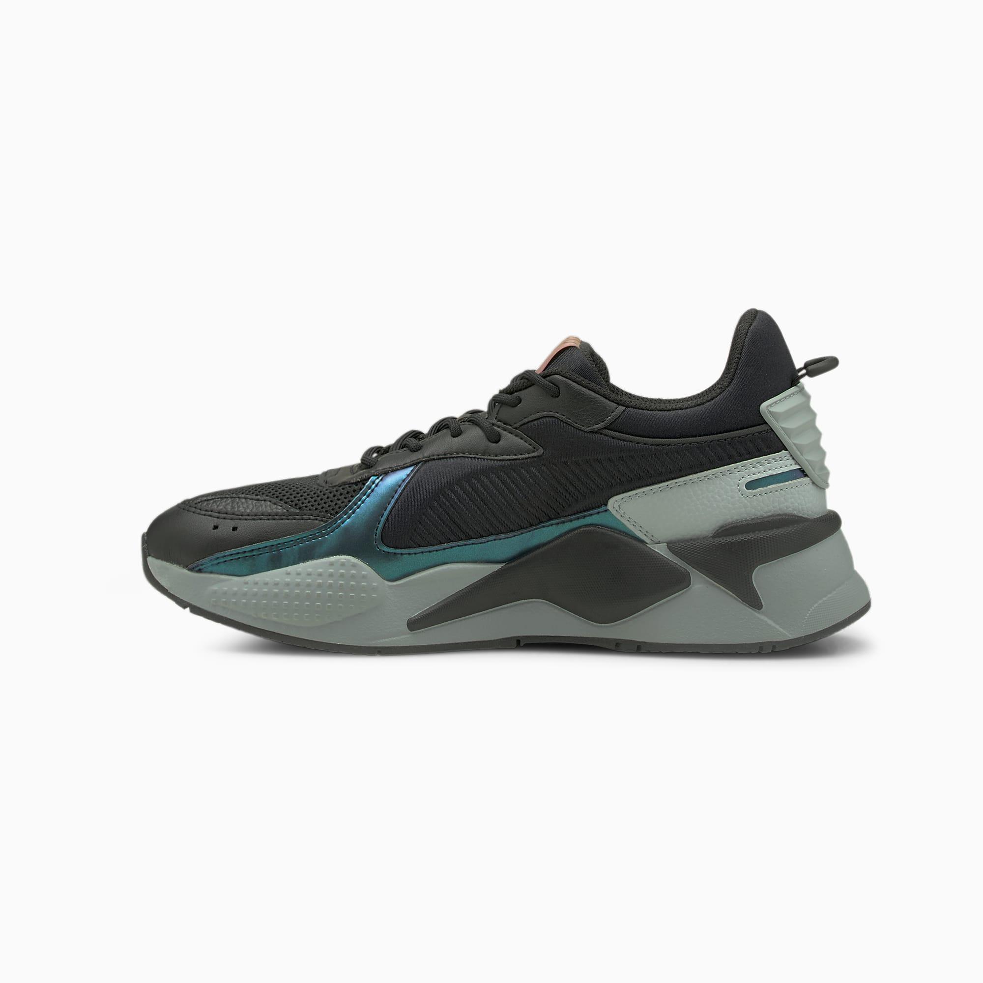 PUMA RS-X Futurverse Men's Sneakers (Black-Quarry)