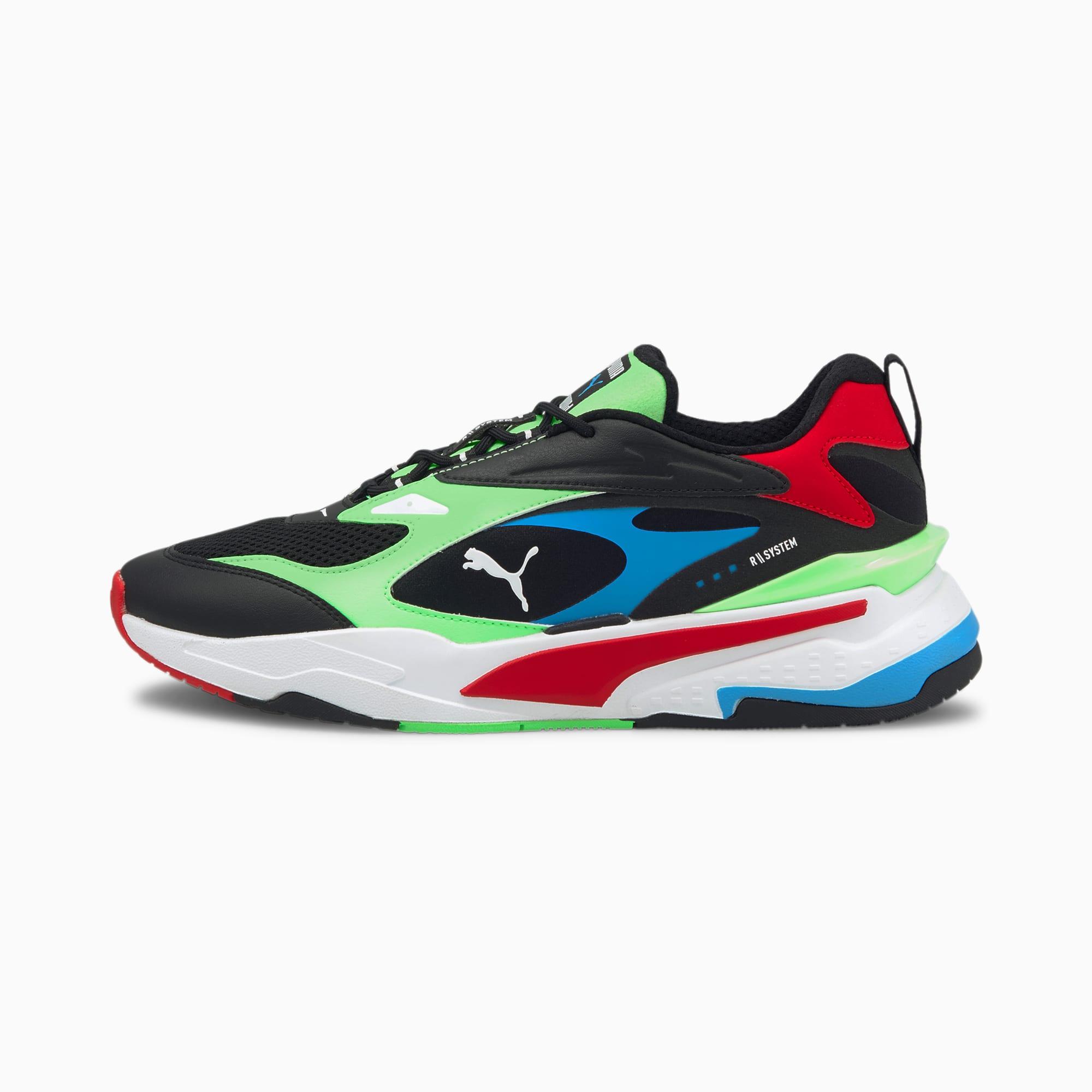 RS-Fast Sneakers | Puma Black-Elektro Green-High Risk Red | PUMA ...