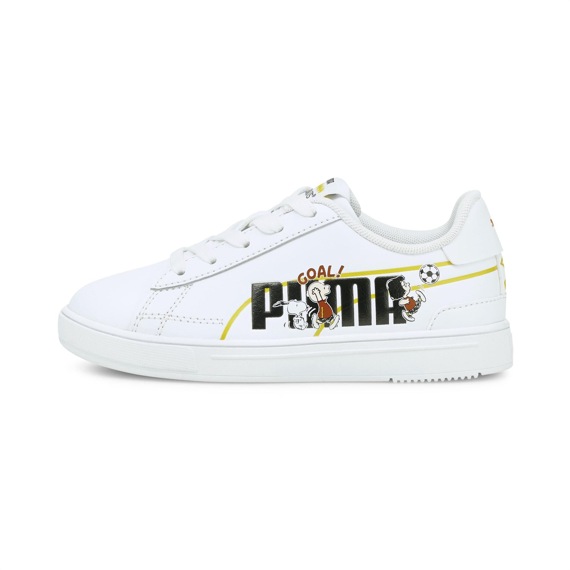 PUMA x PEANUTS Serve Pro Little Kids' Sneakers