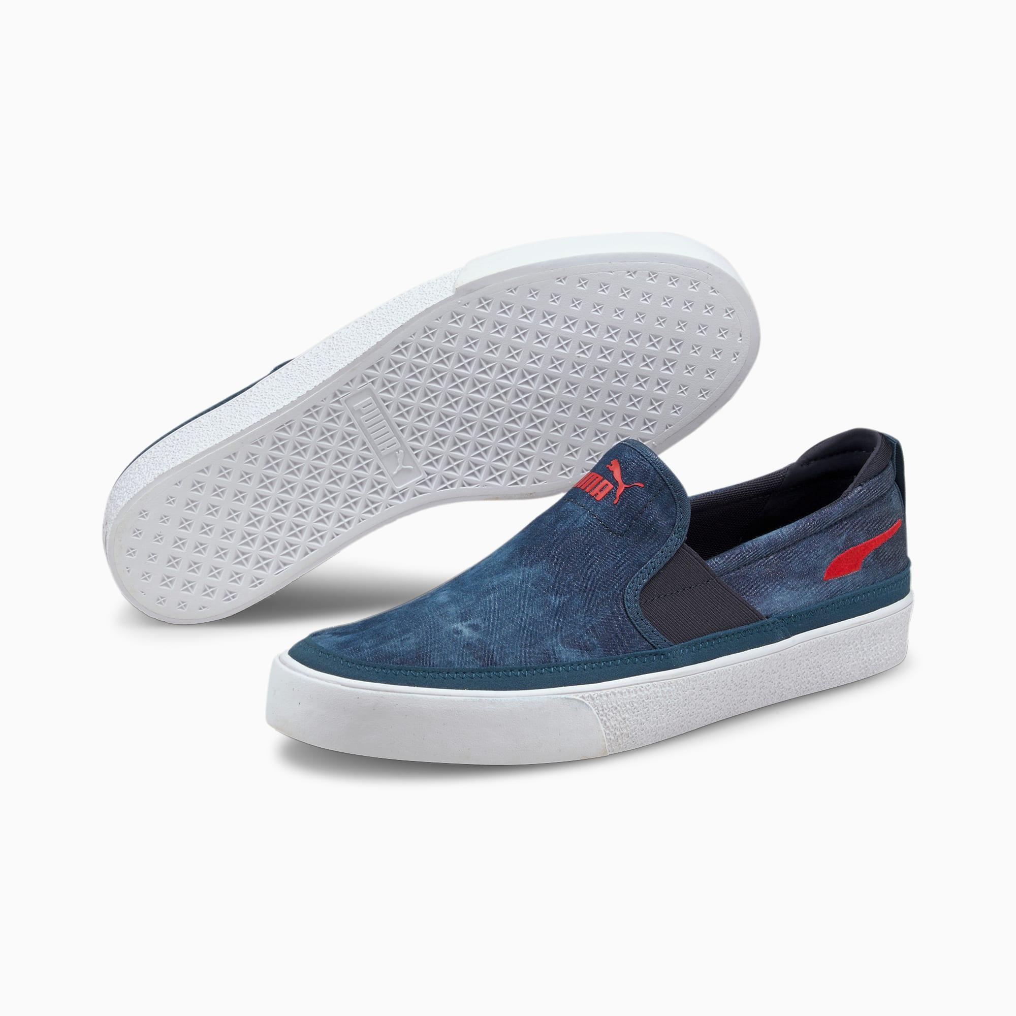 Bari Z Slip-On Indigo Sneakers