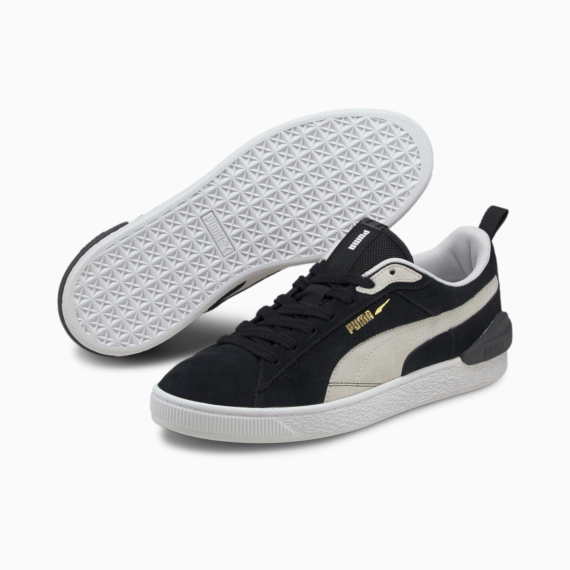 Suede Bloc Men\'s Sneakers Puma Black-Ebony