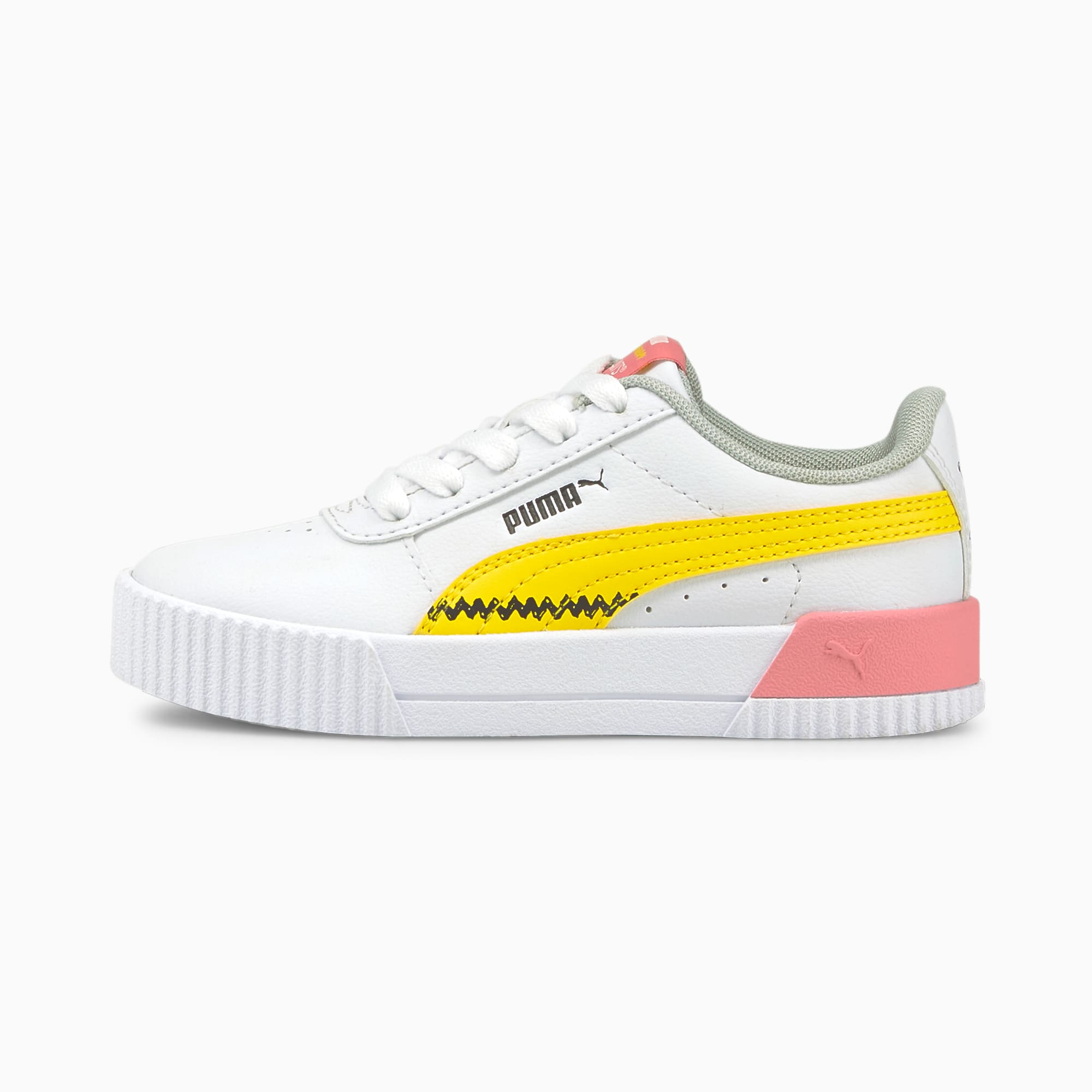 PUMA x PEANUTS Carina Little Kids' Sneakers
