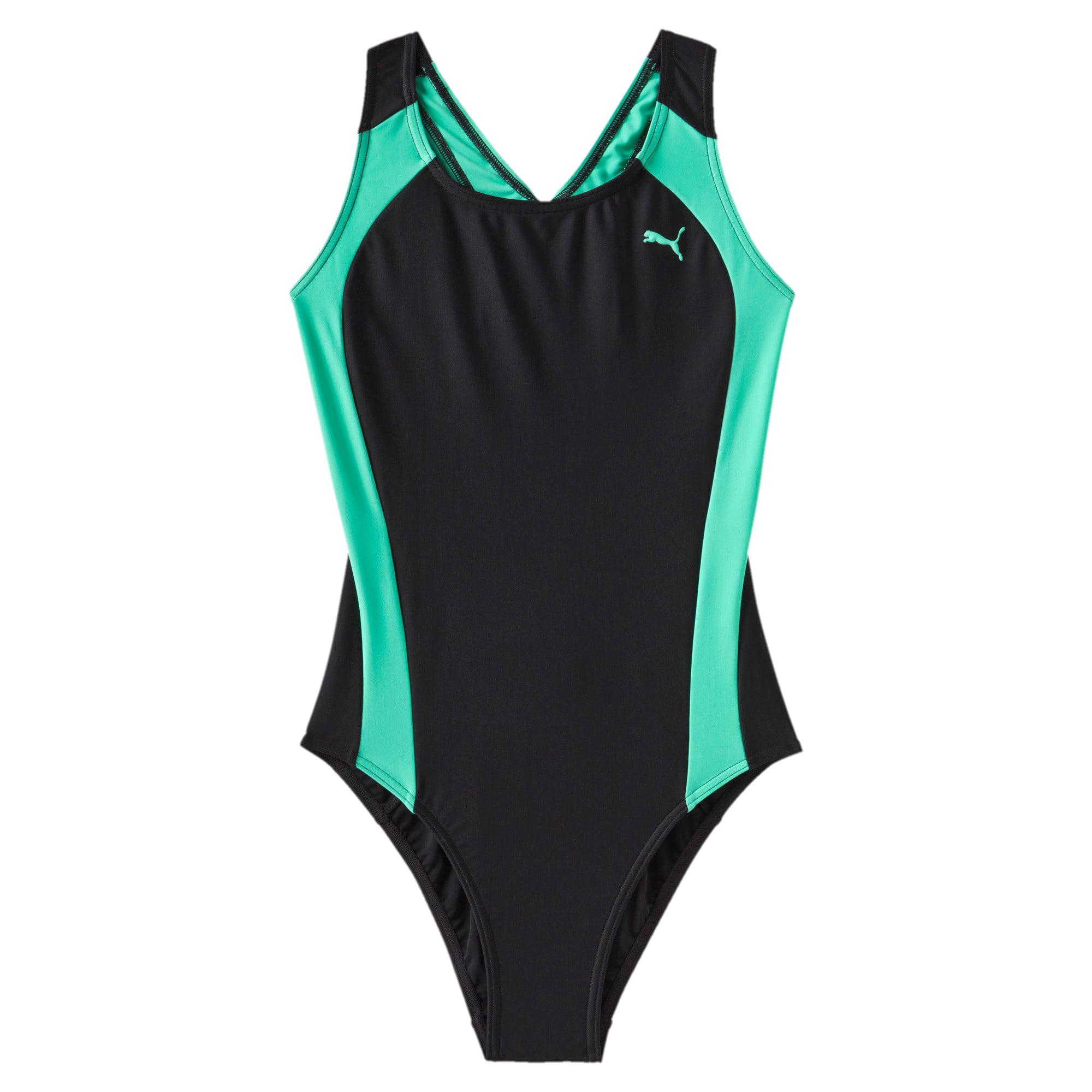 Thumbnail 1 of Women's Swimsuit, mint leaf, medium-IND
