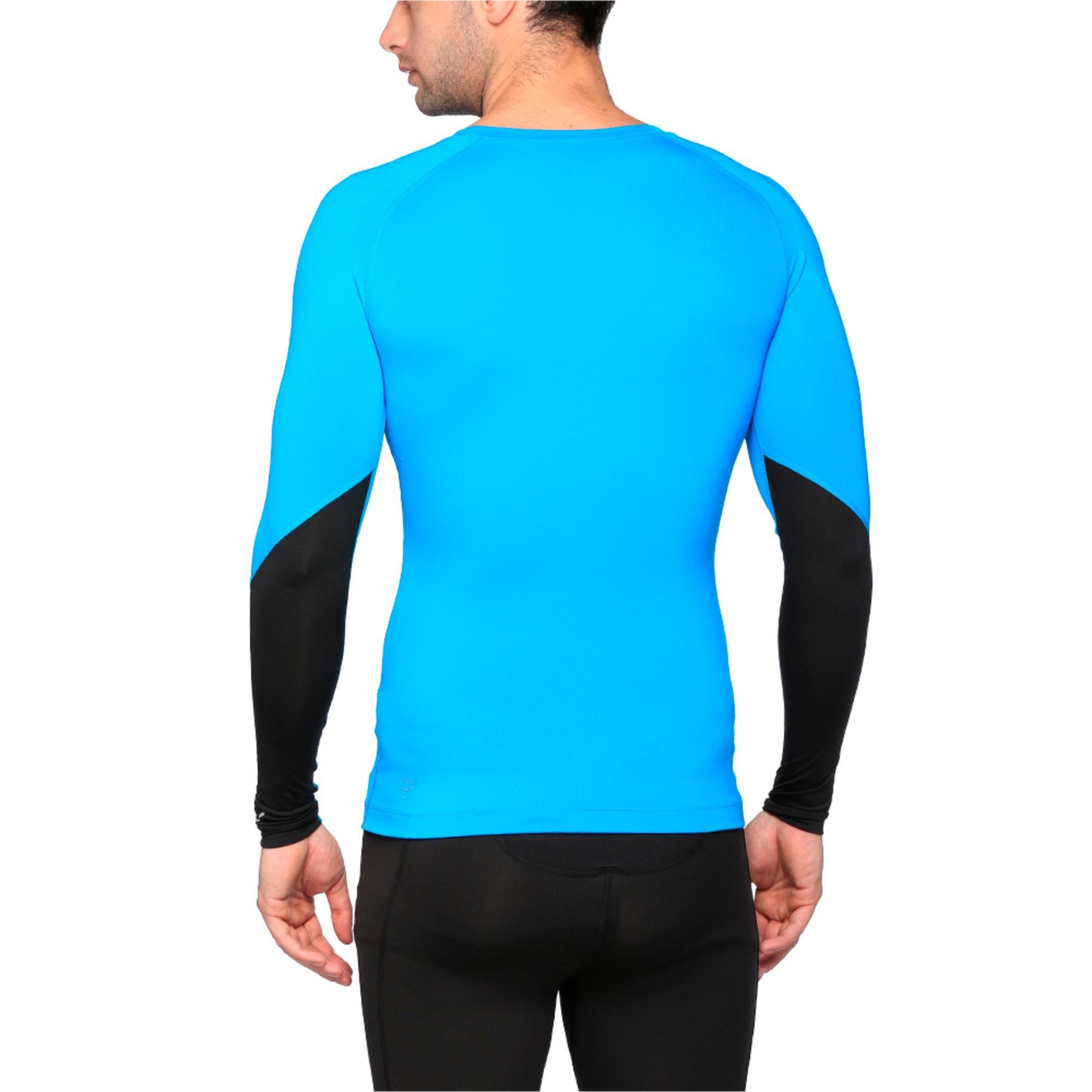 Thumbnail 4 of Training Lite Long Sleeve, BLUE DANUBE-Puma Black, medium-IND