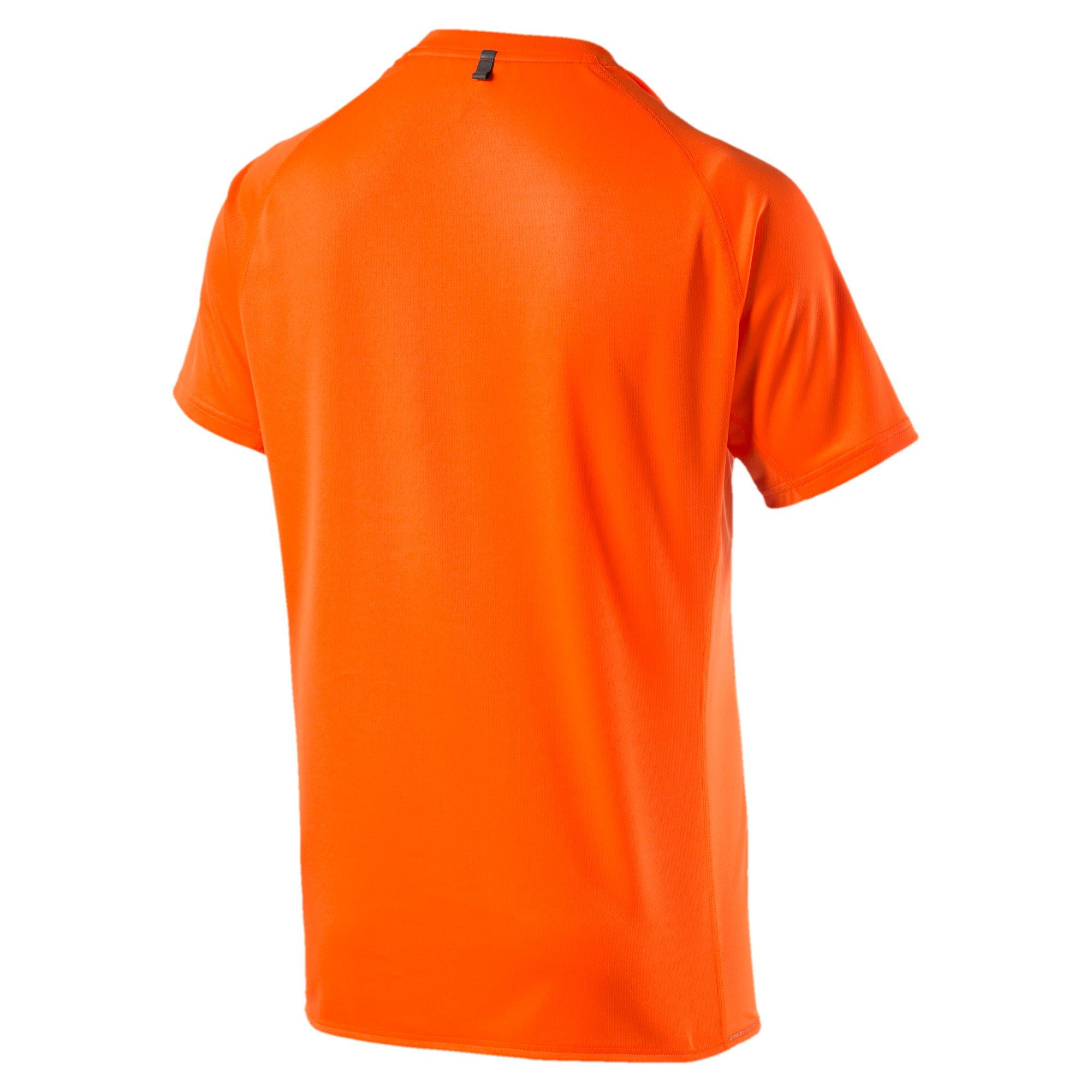 Thumbnail 5 of Running Logo T-Shirt, Shocking Orange, medium-IND
