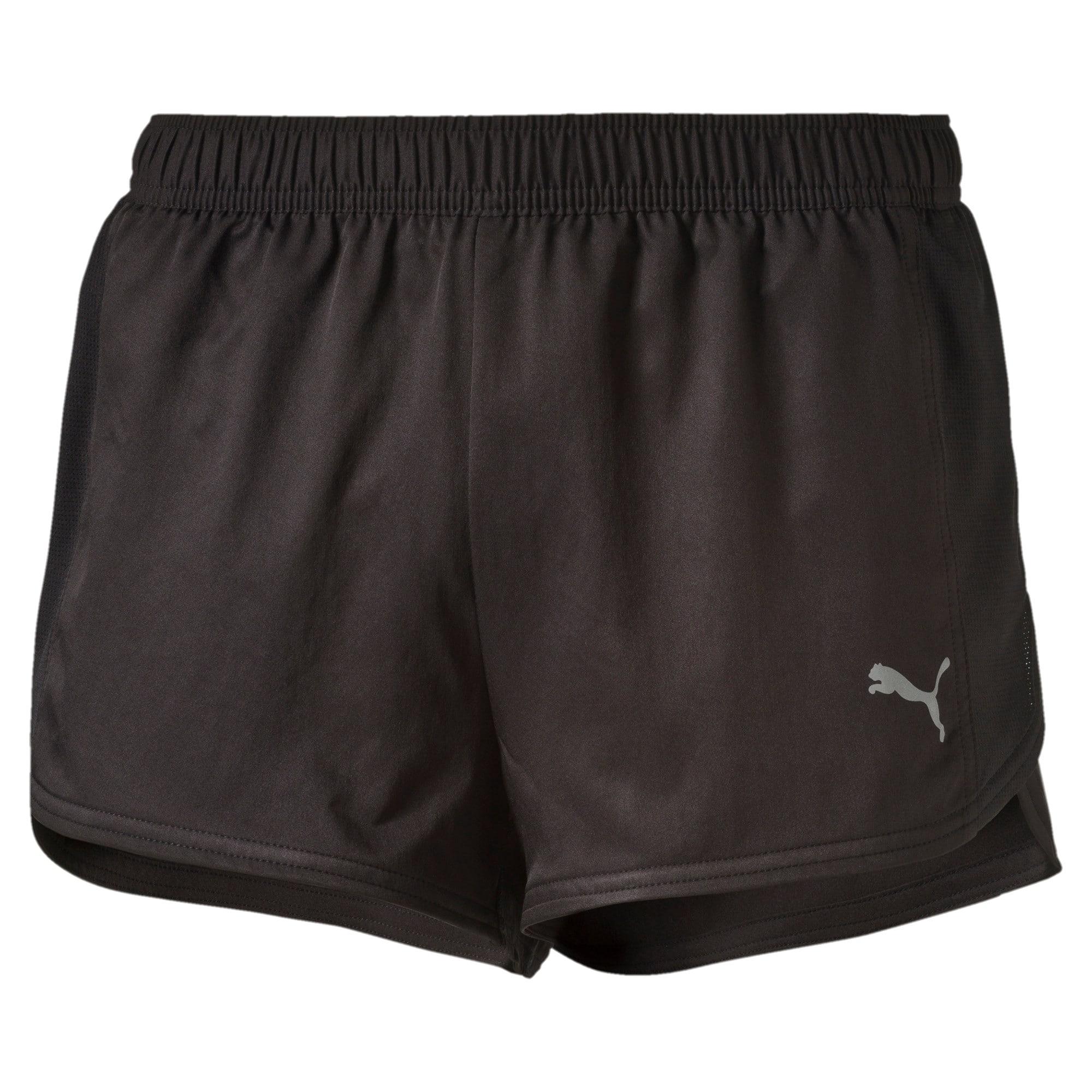 Thumbnail 1 of Running Split Shorts, black, medium-IND