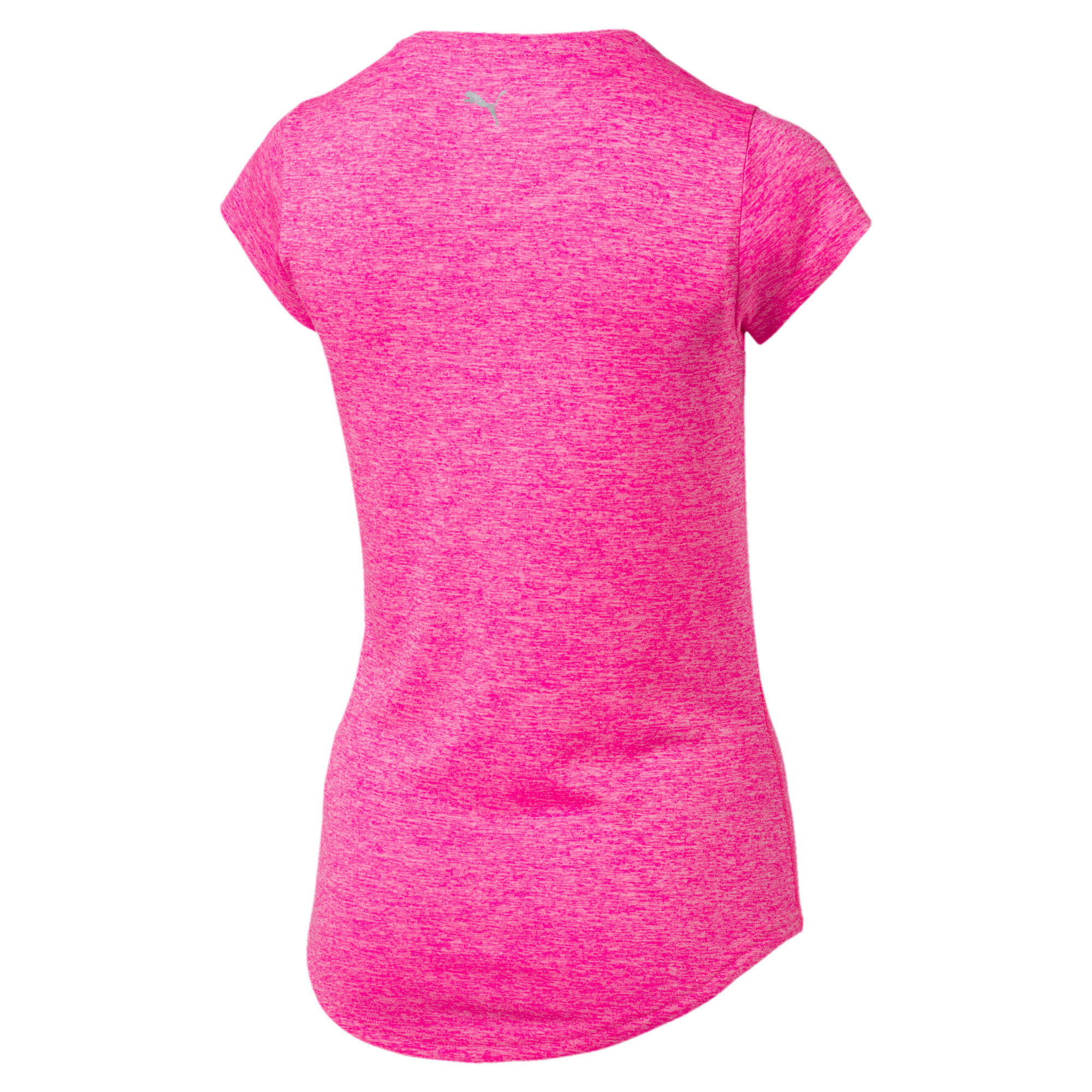 Thumbnail 5 of Active Training Women's Heather Cat T-Shirt, KNOCKOUT PINK Heather, medium-IND