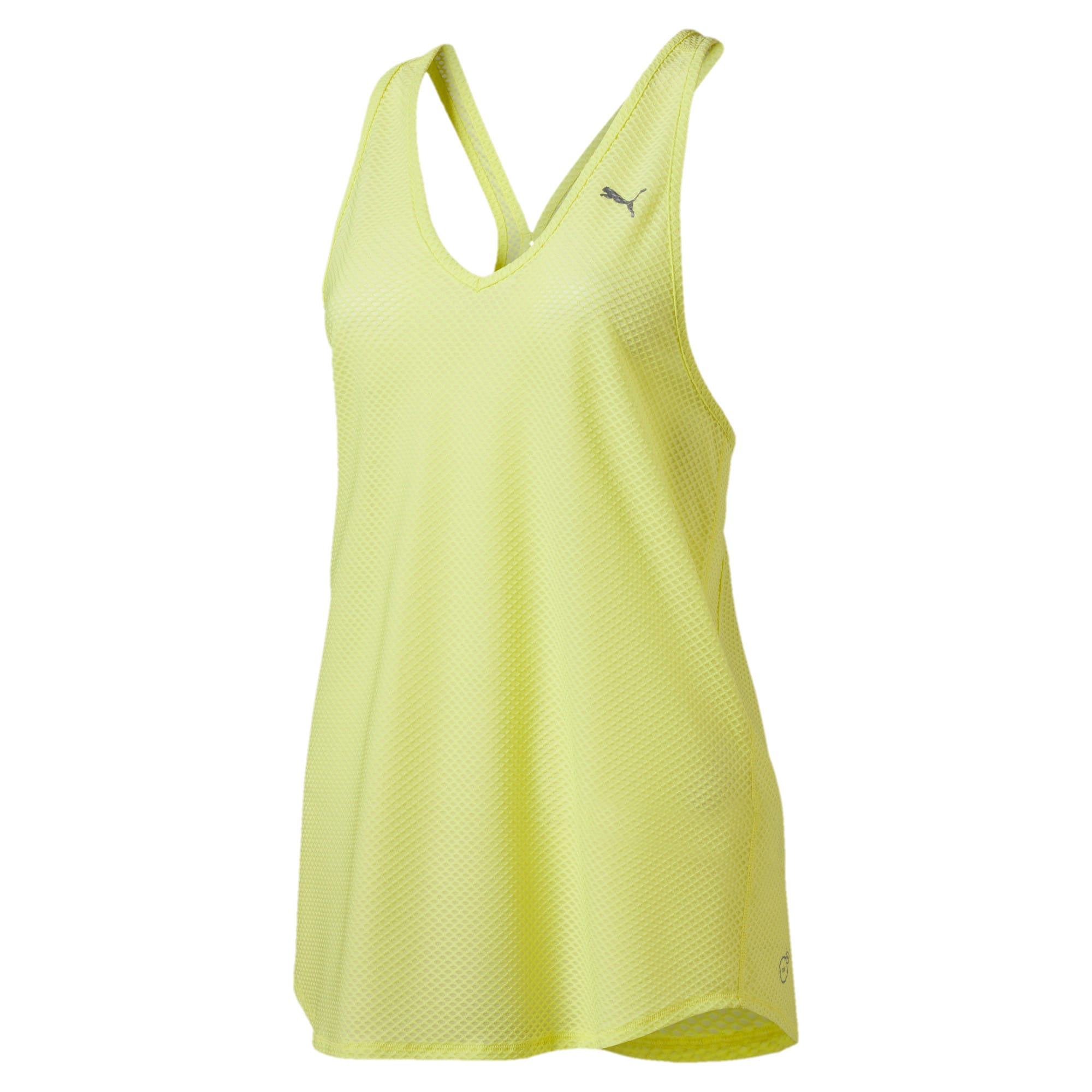 Thumbnail 4 of Active Training Women's Mesh It Up Tank Top, SOFT FLUO YELLOW, medium-IND
