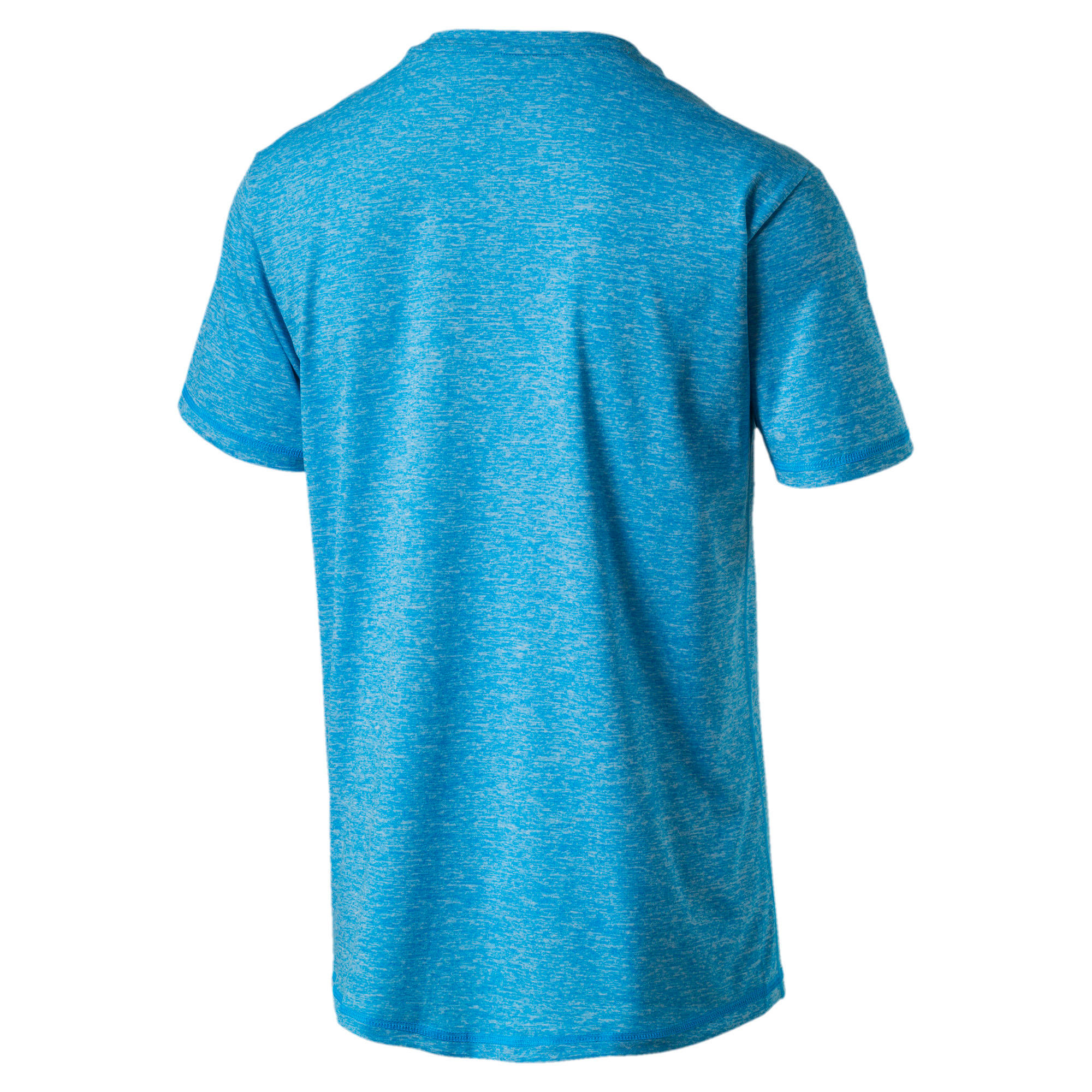 Training Men's Essential Puretech Heather T-Shirt, BLUE DANUBE Heather, large-IND