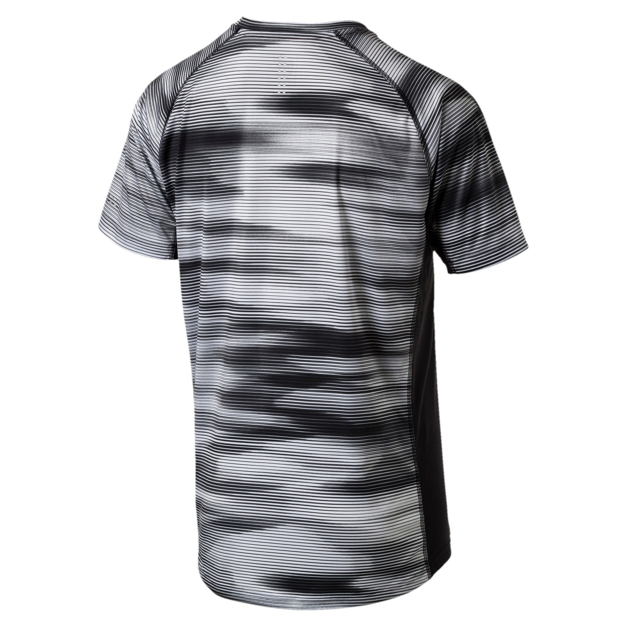 Thumbnail 5 of Running Men's Graphic T-Shirt, Puma Black Heather, medium-IND