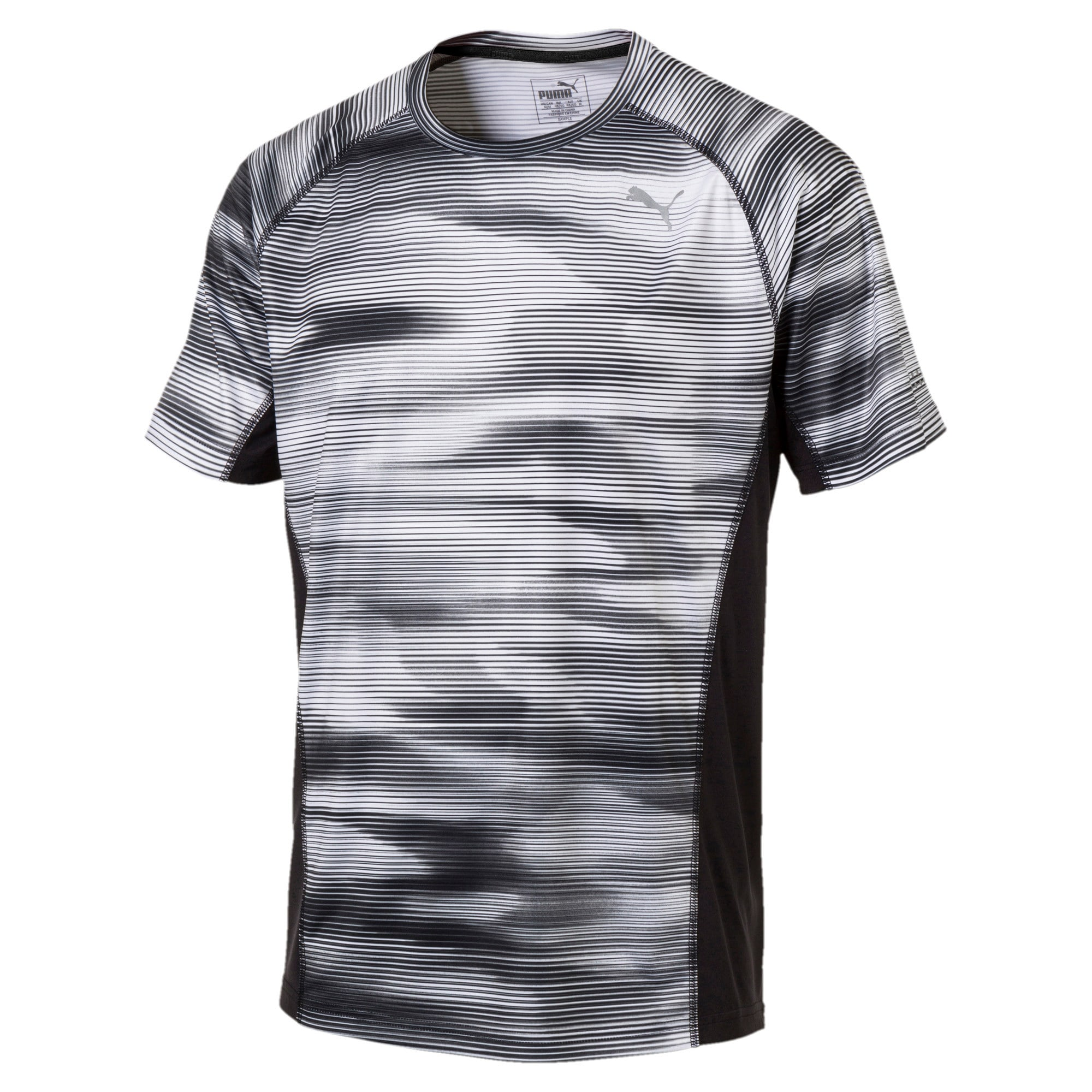 Thumbnail 1 of Running Men's Graphic T-Shirt, Puma Black Heather, medium-IND