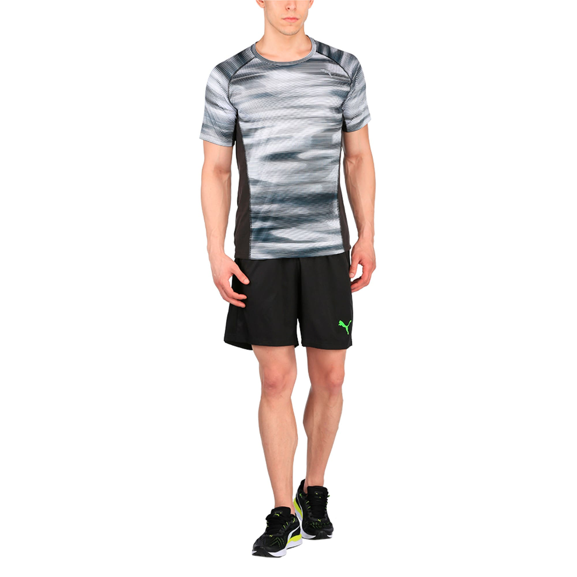 Thumbnail 4 of Running Men's Graphic T-Shirt, Puma Black Heather, medium-IND
