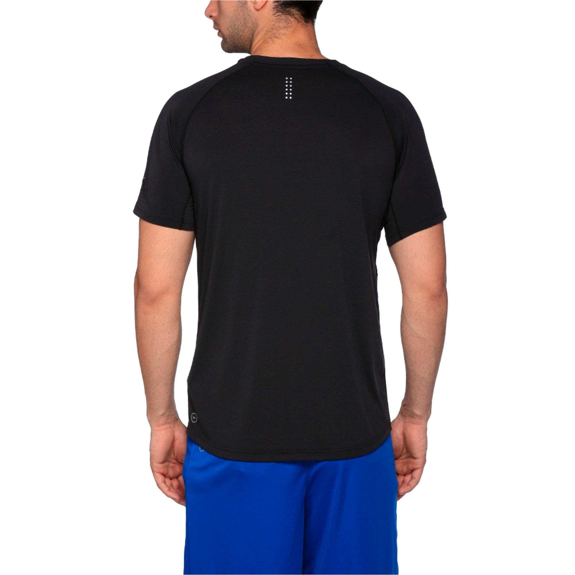 Thumbnail 3 of Running Men's Run T-Shirt, Puma Black Heather, medium-IND