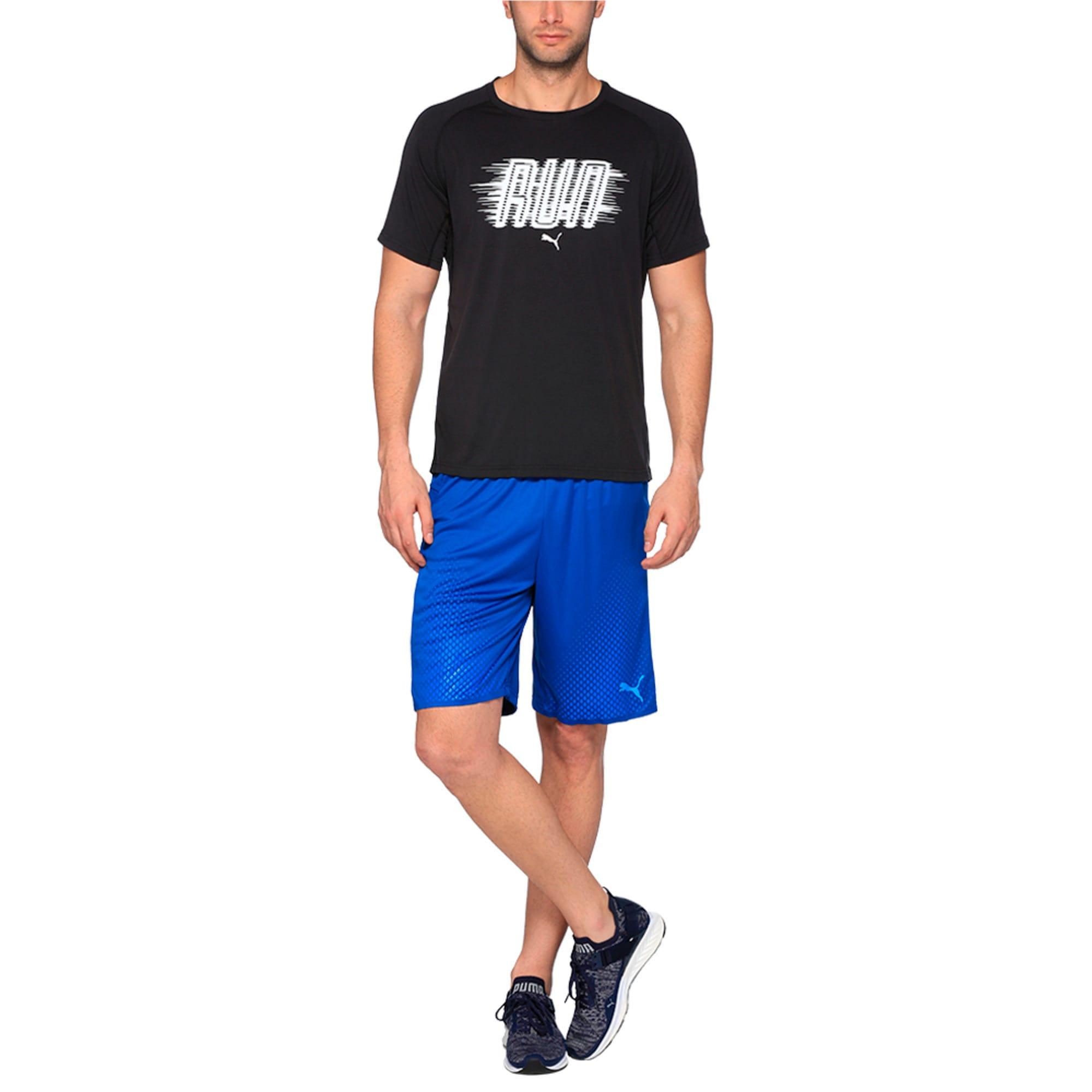 Thumbnail 4 of Running Men's Run T-Shirt, Puma Black Heather, medium-IND