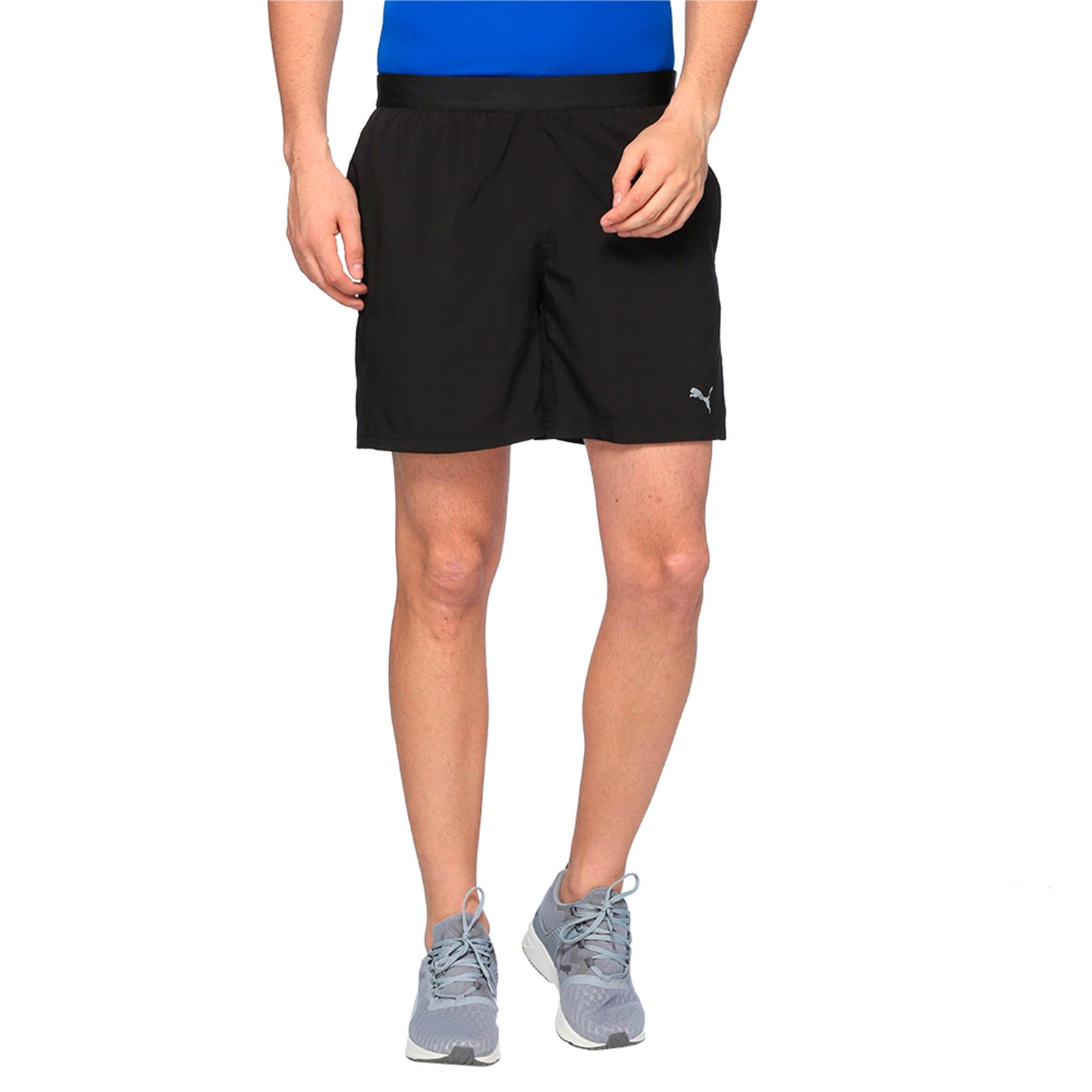 Thumbnail 1 of Running Men's Pace Shorts, Puma Black, medium-IND