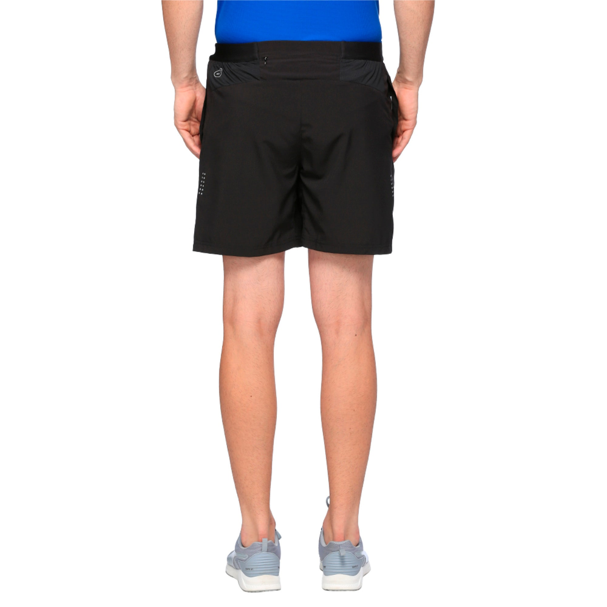Thumbnail 2 of Running Men's Pace Shorts, Puma Black, medium-IND