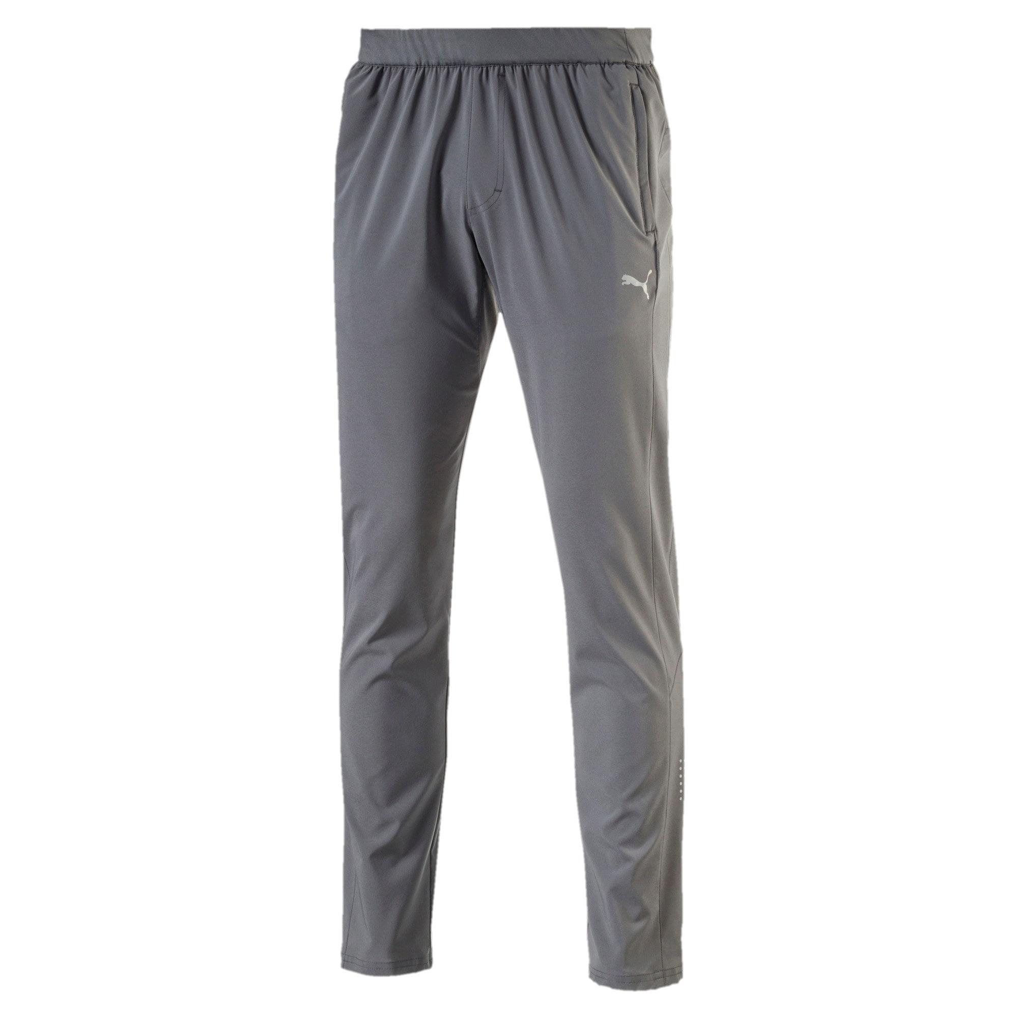 Thumbnail 3 of Running Men's Tapered Pants, QUIET SHADE, medium-IND