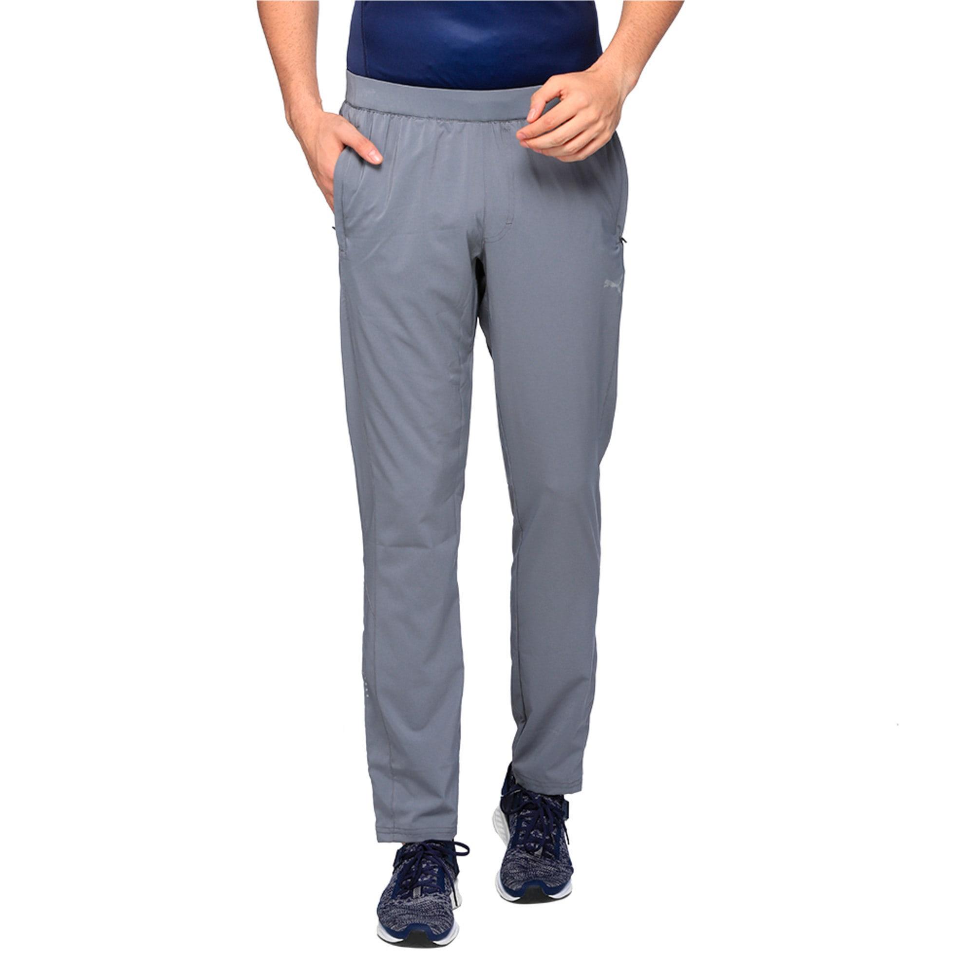 Thumbnail 1 of Running Men's Tapered Pants, QUIET SHADE, medium-IND