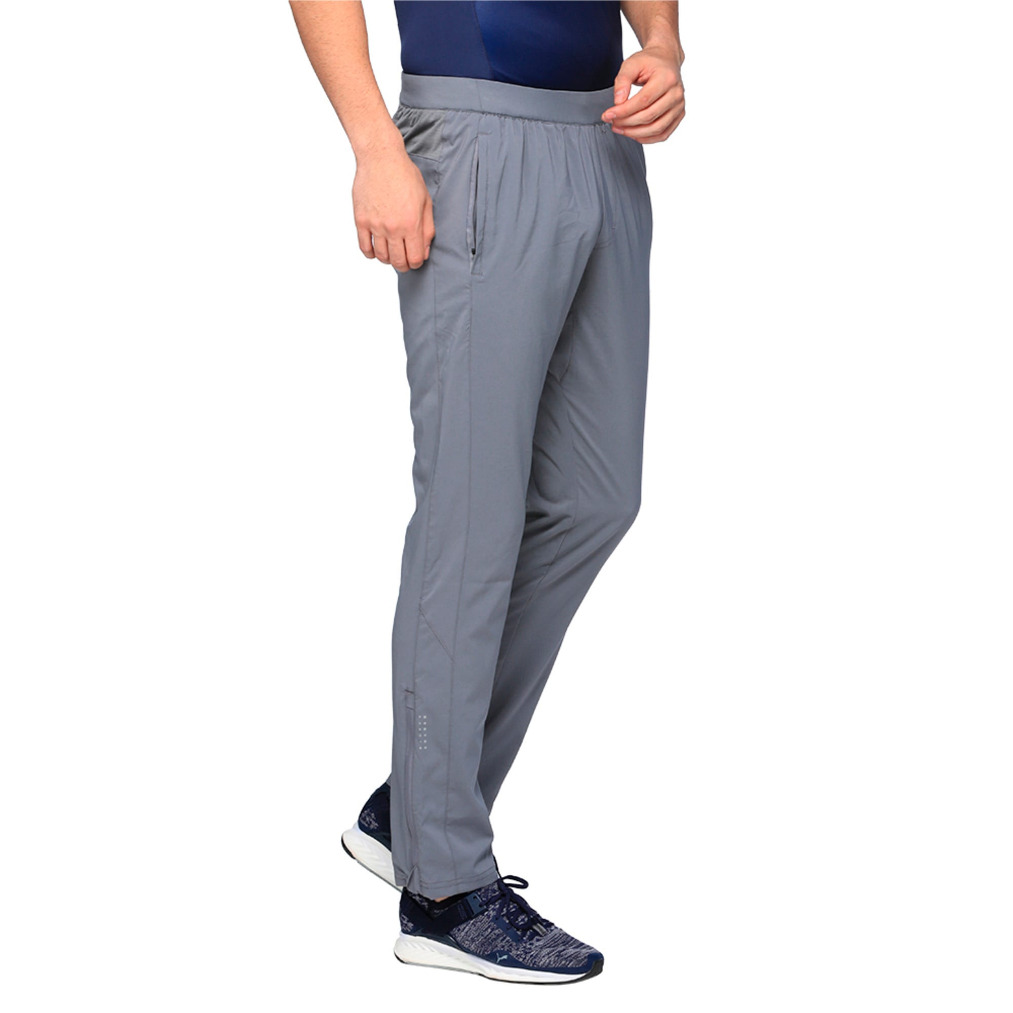 Thumbnail 2 of Running Men's Tapered Pants, QUIET SHADE, medium-IND