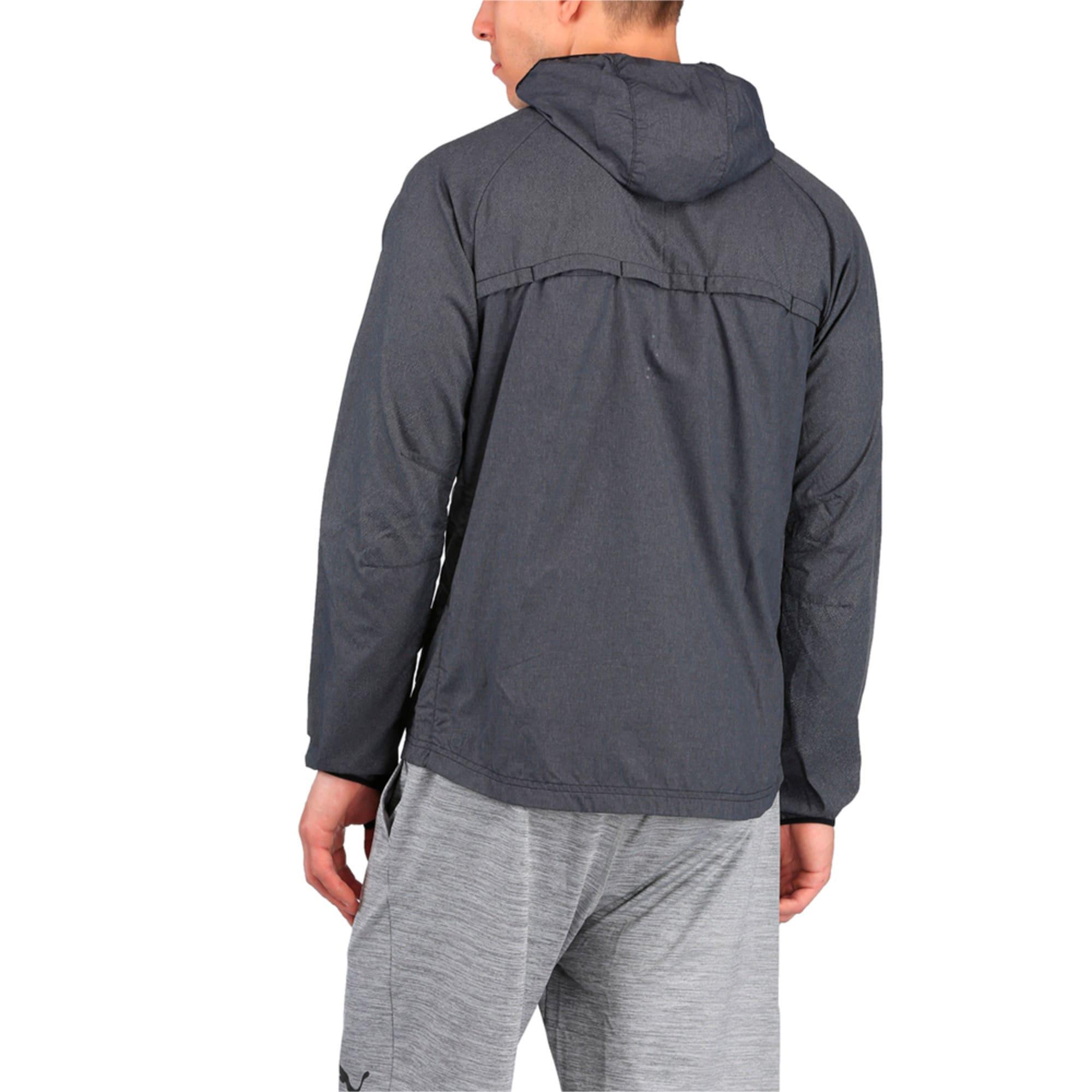 Thumbnail 1 of Running Men's NightCat Jacket, Puma Black Heather, medium-IND
