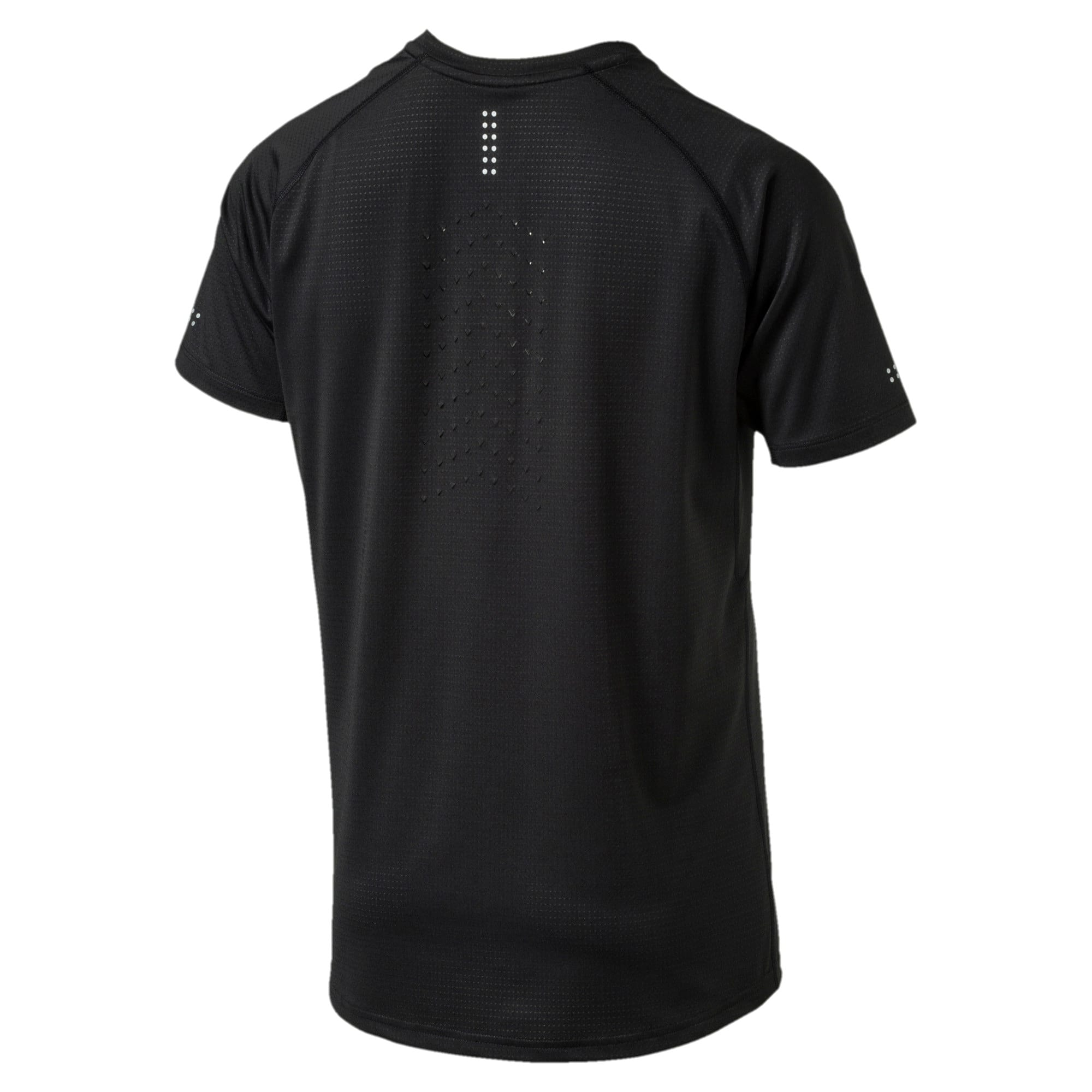 Thumbnail 5 of Running Men's Speed T-Shirt, Puma Black Heather, medium-IND