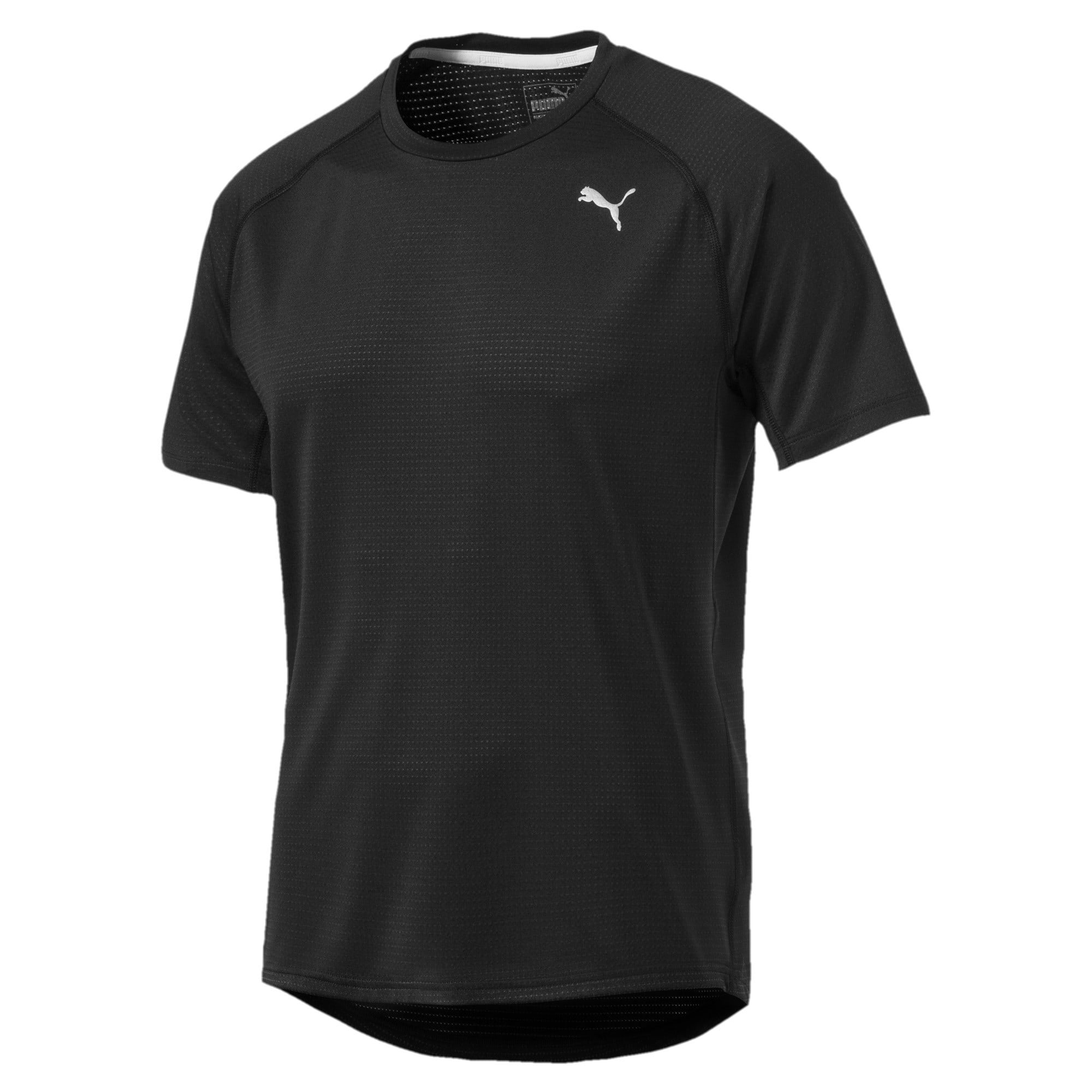 Thumbnail 4 of Running Men's Speed T-Shirt, Puma Black Heather, medium-IND