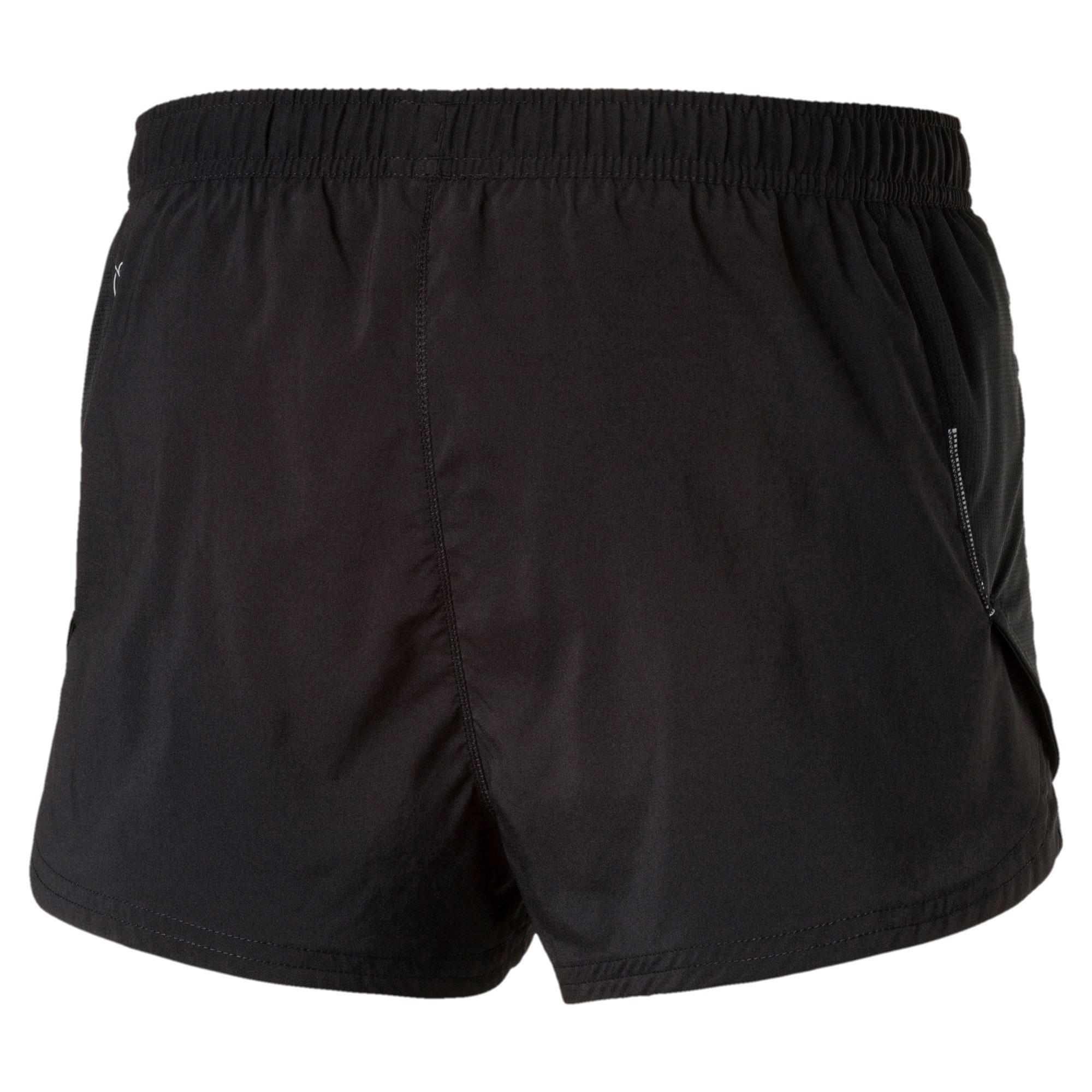 Thumbnail 5 of Running Men's Split Shorts, Puma Black, medium-IND