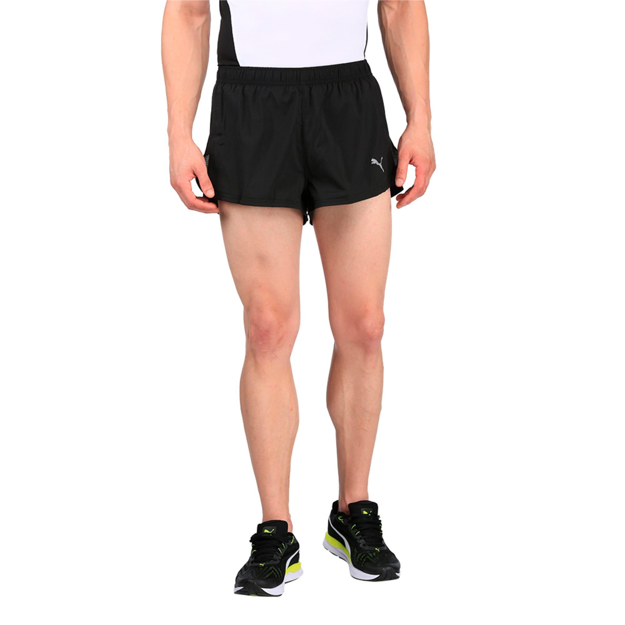 Thumbnail 1 of Running Men's Split Shorts, Puma Black, medium-IND