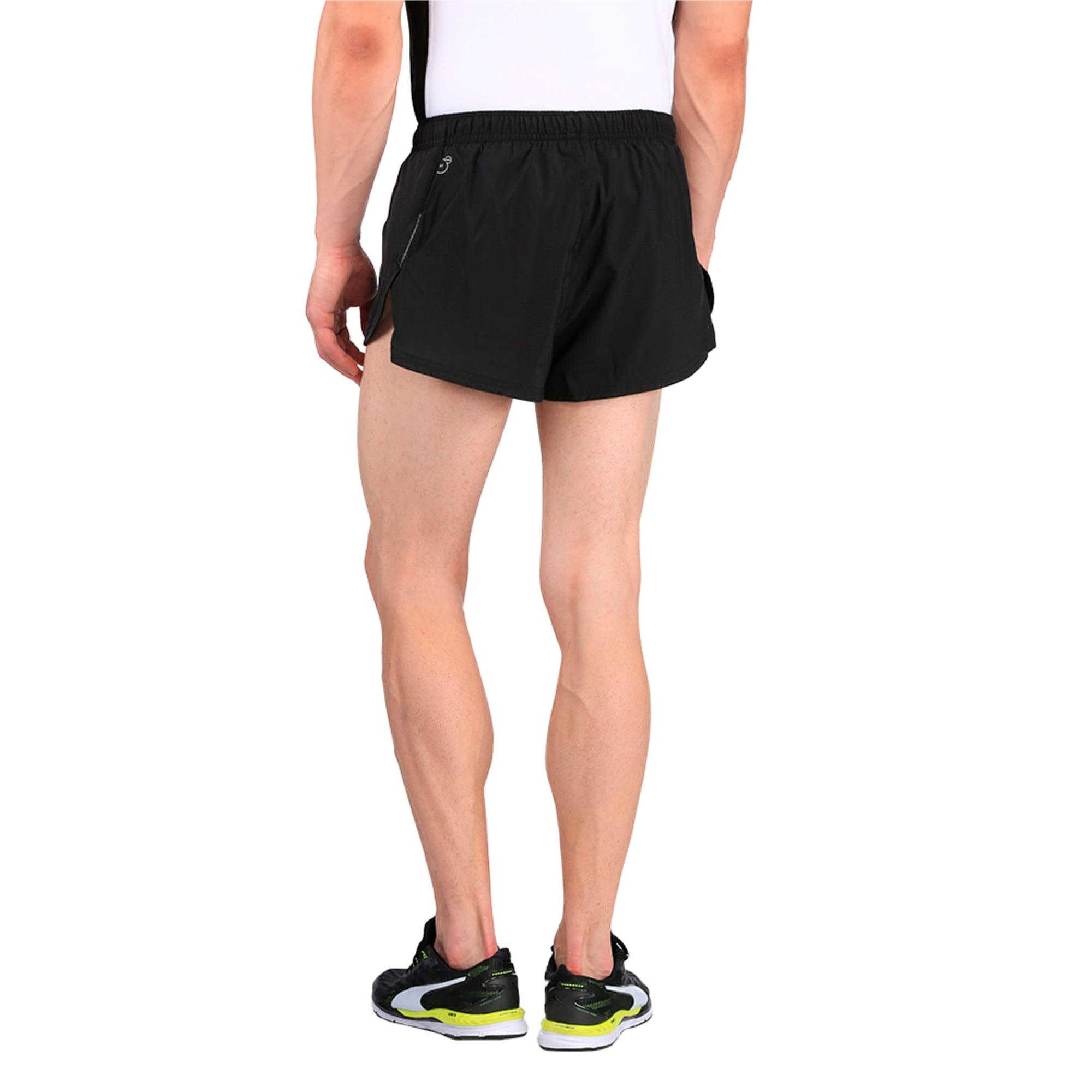 Thumbnail 2 of Running Men's Split Shorts, Puma Black, medium-IND