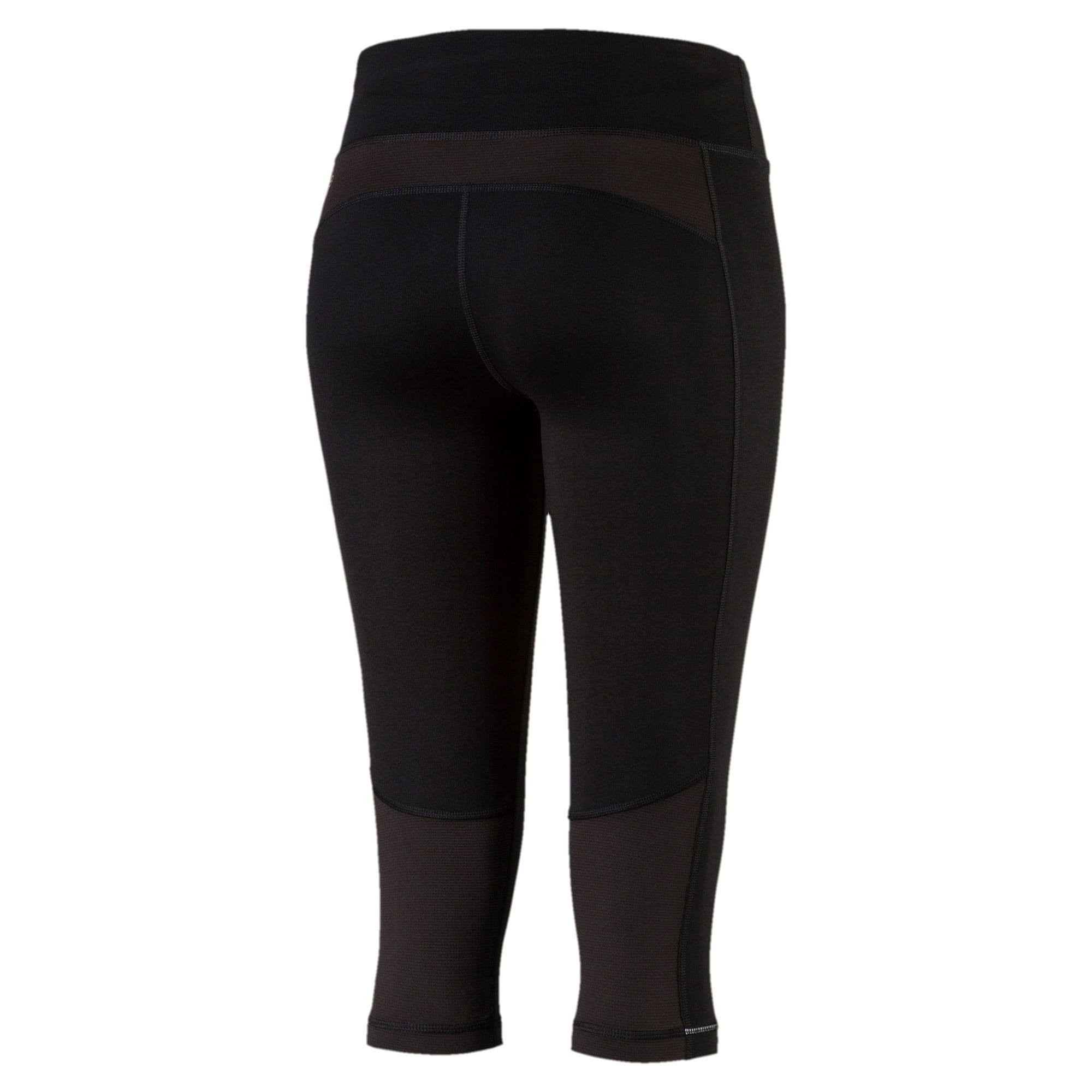 Thumbnail 5 of Running Women's 3/4 Tights, Puma Black, medium-IND