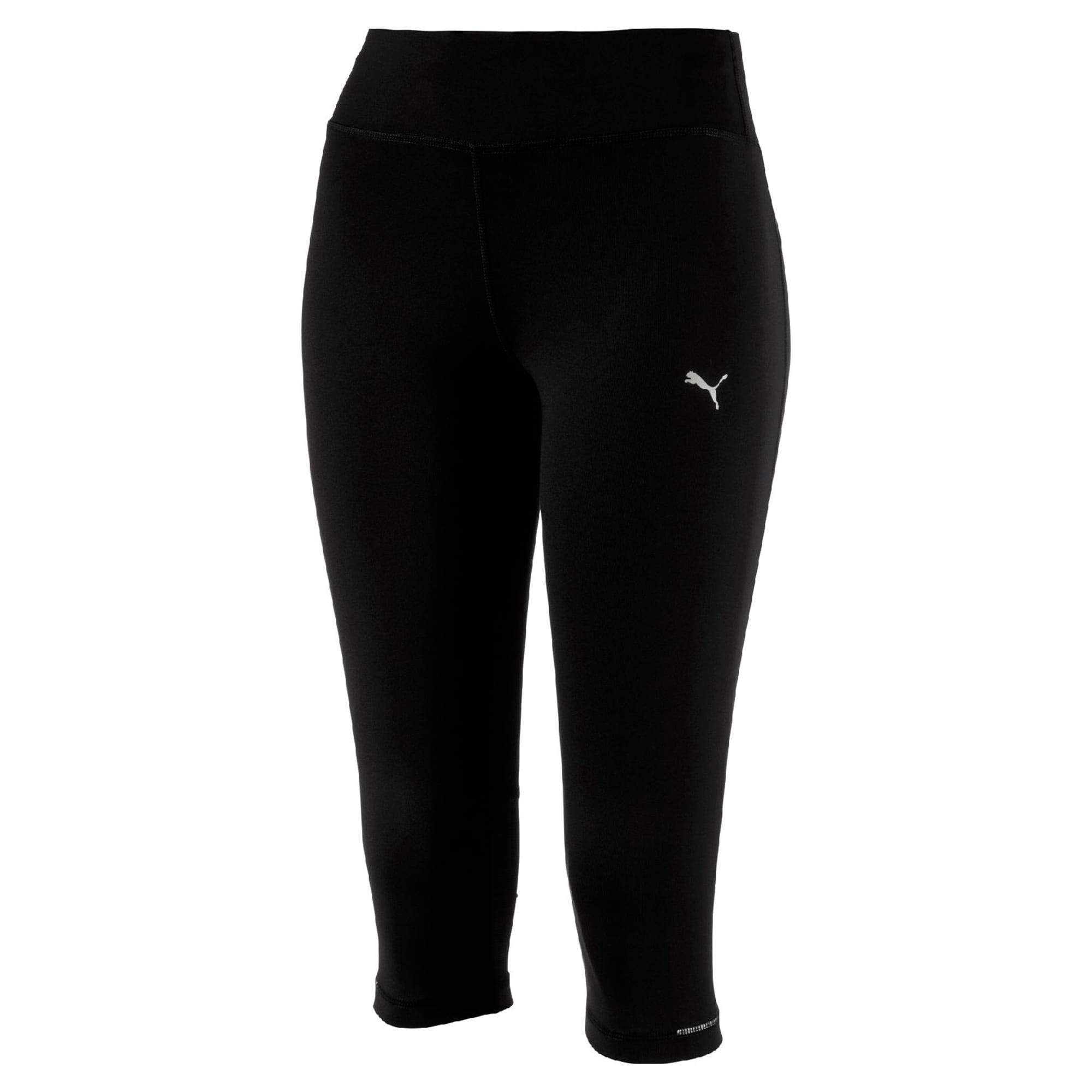 Thumbnail 4 of Running Women's 3/4 Tights, Puma Black, medium-IND