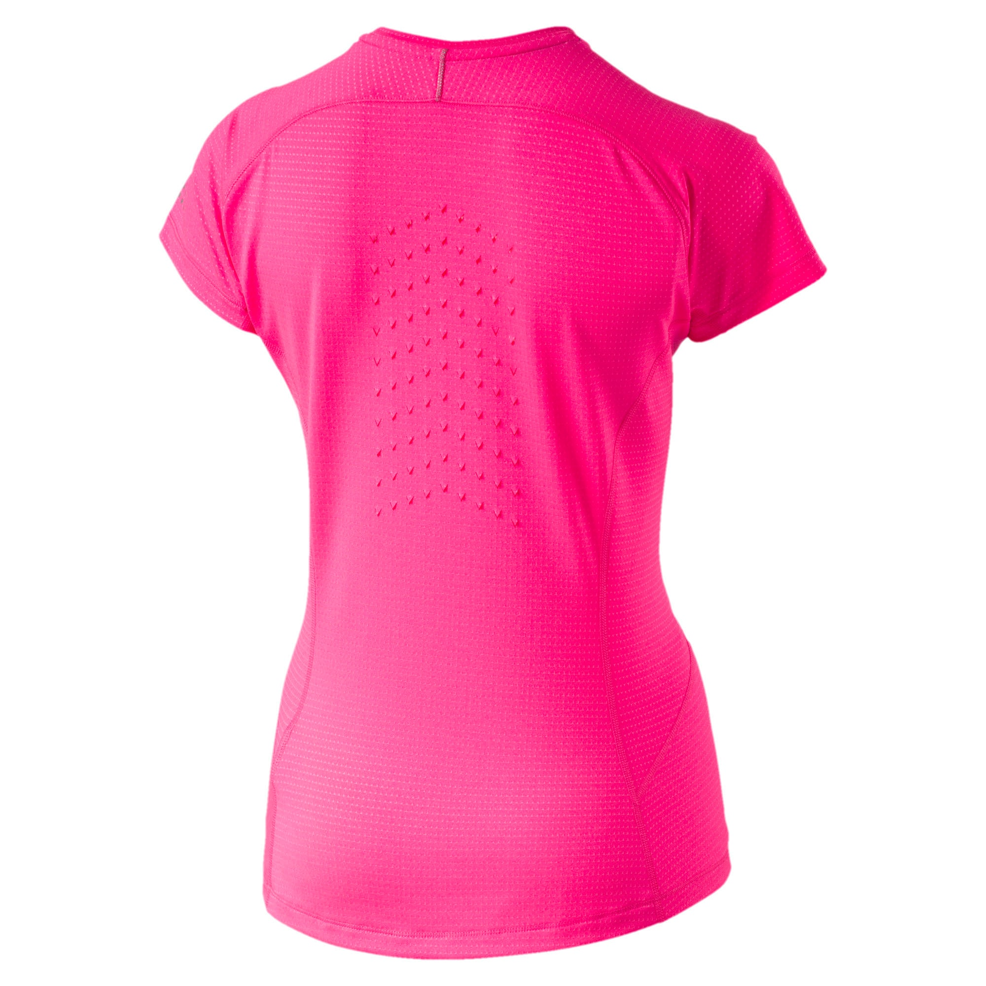 Thumbnail 4 of Women's Running Speed Short Sleeves Tee, KNOCKOUT PINK Heather, medium-IND