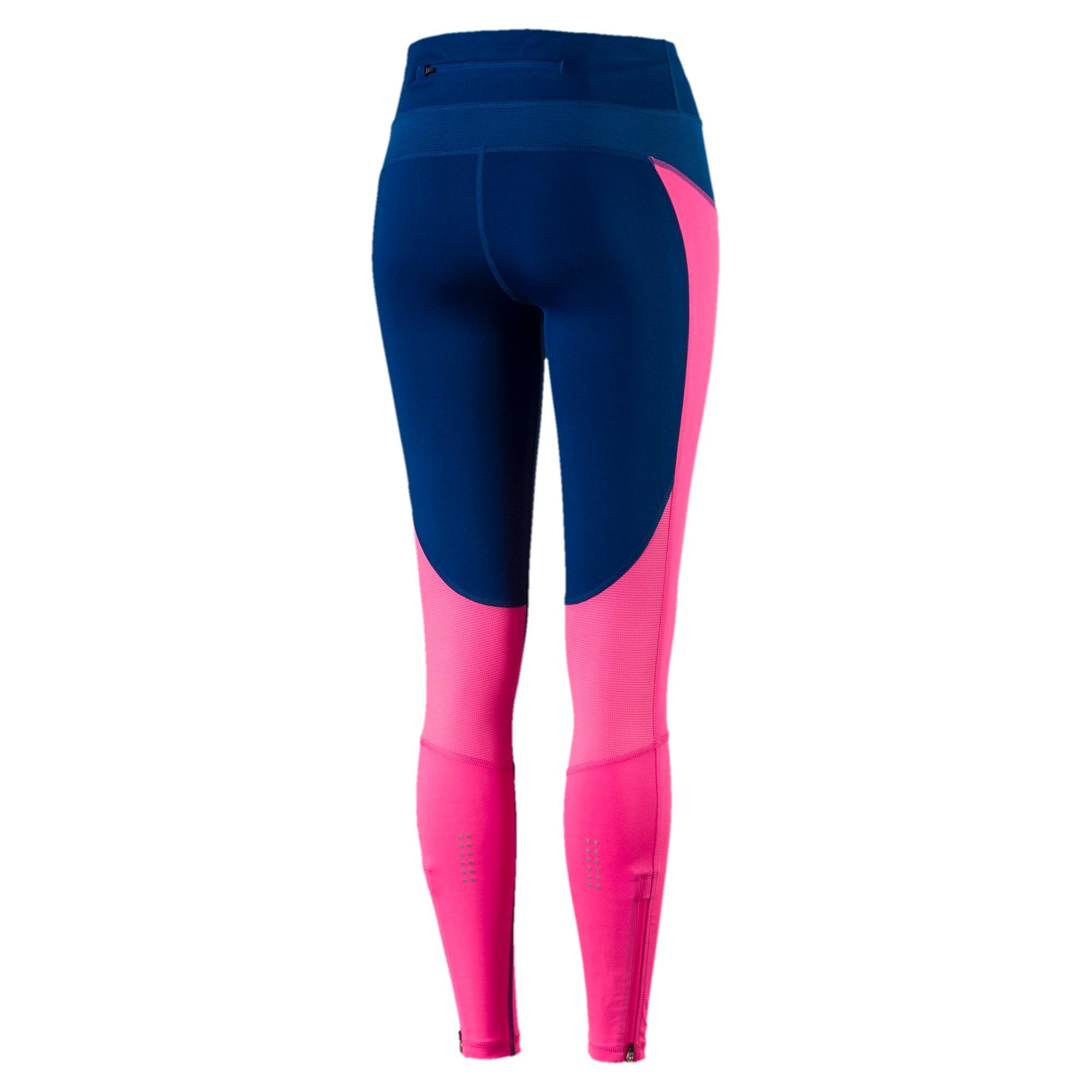 Thumbnail 5 of Running Women's Speed Tights, KNOCKOUT PINK-TRUE BLUE, medium-IND