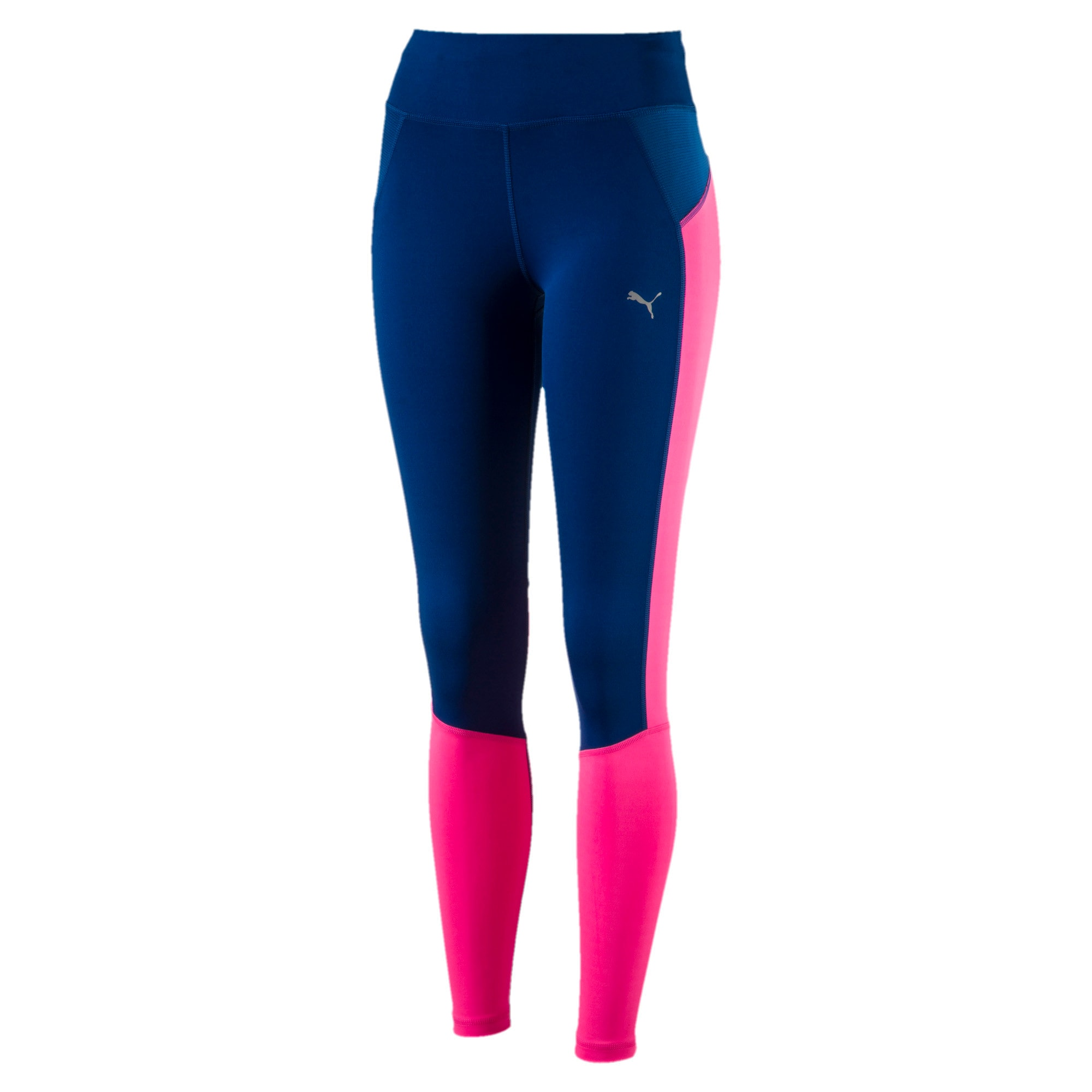 Thumbnail 4 of Running Women's Speed Tights, KNOCKOUT PINK-TRUE BLUE, medium-IND