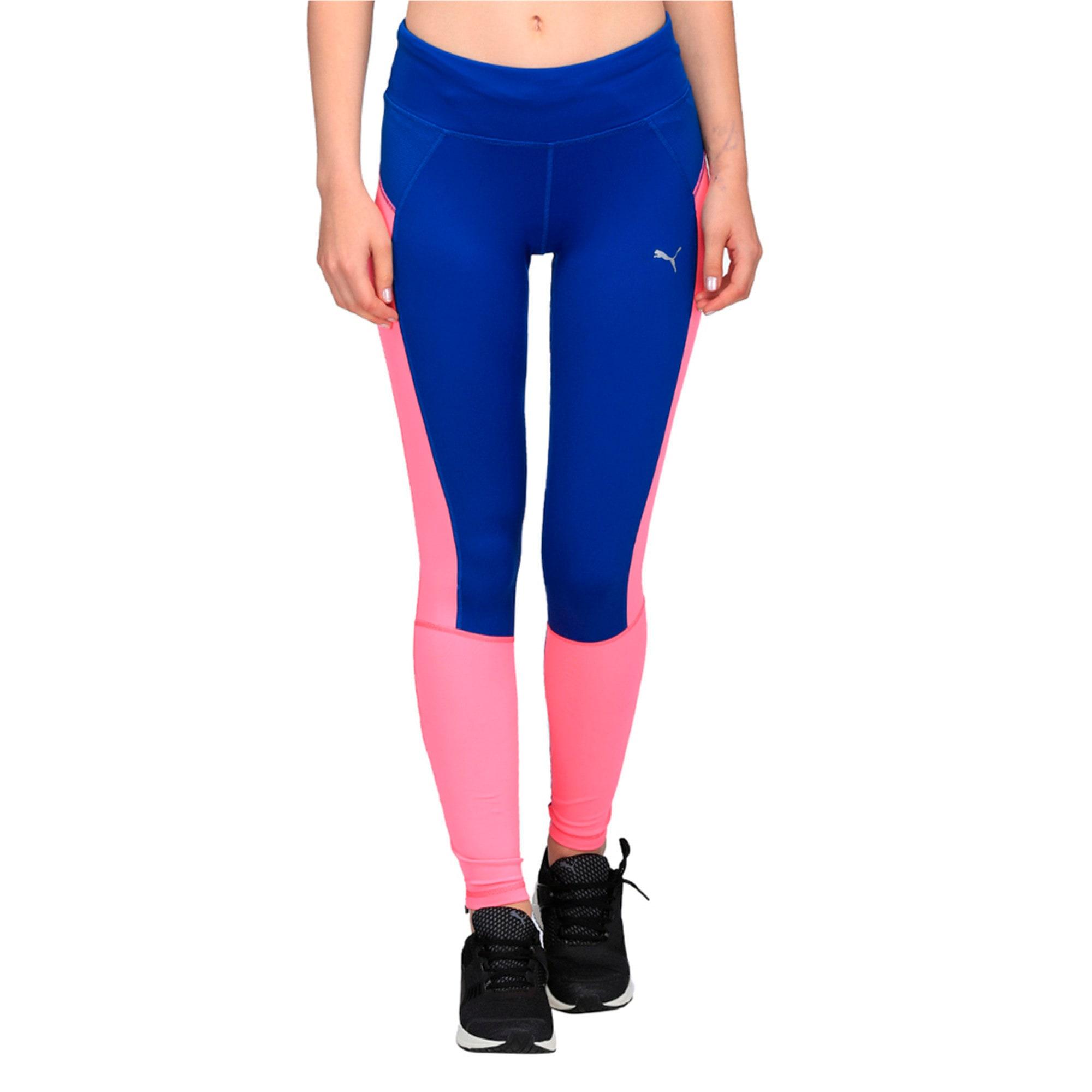 Thumbnail 1 of Running Women's Speed Tights, KNOCKOUT PINK-TRUE BLUE, medium-IND