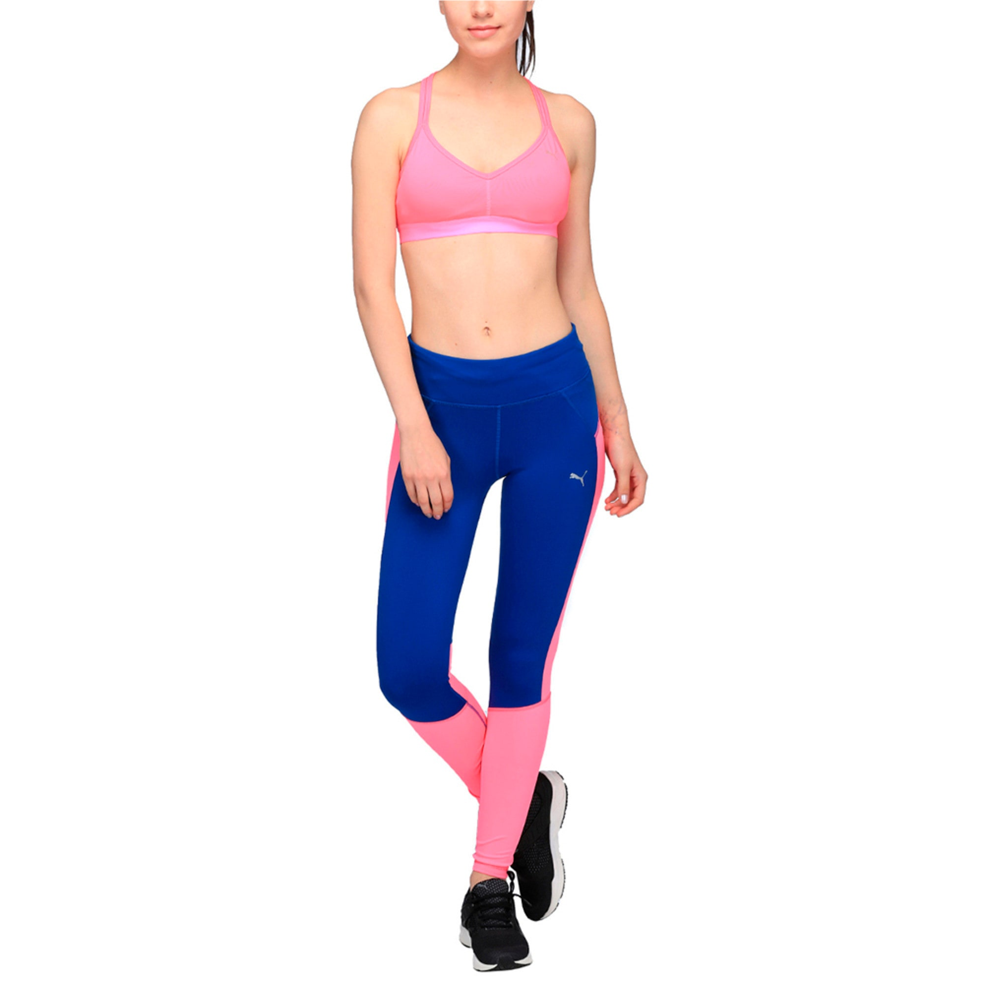Thumbnail 3 of Running Women's Speed Tights, KNOCKOUT PINK-TRUE BLUE, medium-IND