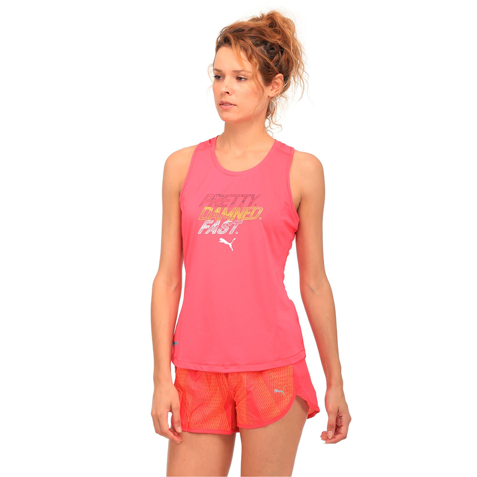 Thumbnail 2 of Running Women's PWRCOOL Slogan Tank Top, SPARKLING COSMO, medium-IND