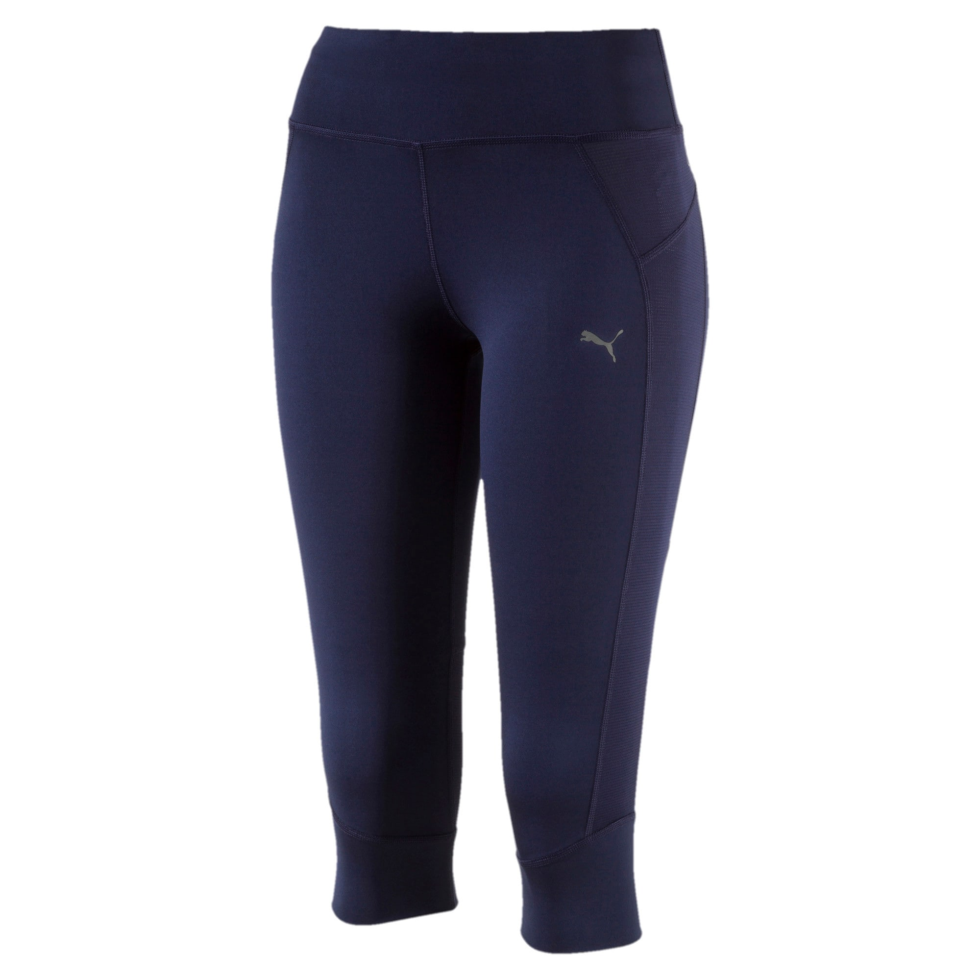 Thumbnail 1 of Running Women's PWRCOOL Speed 3/4 Tights, Peacoat, medium-IND