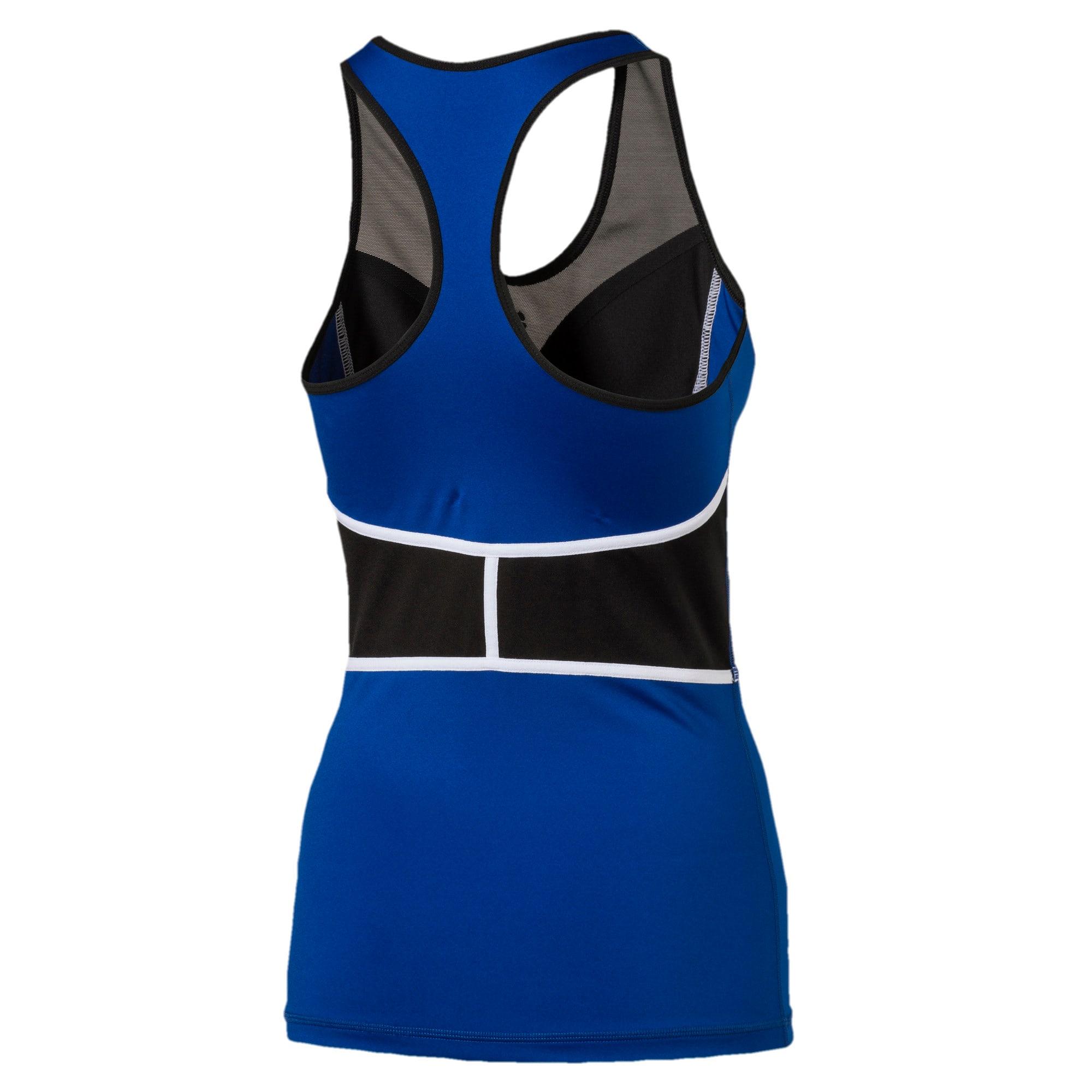 Thumbnail 5 of Active Training Women's PWRSHAPE Tank Top, TRUE BLUE-Puma Black, medium-IND