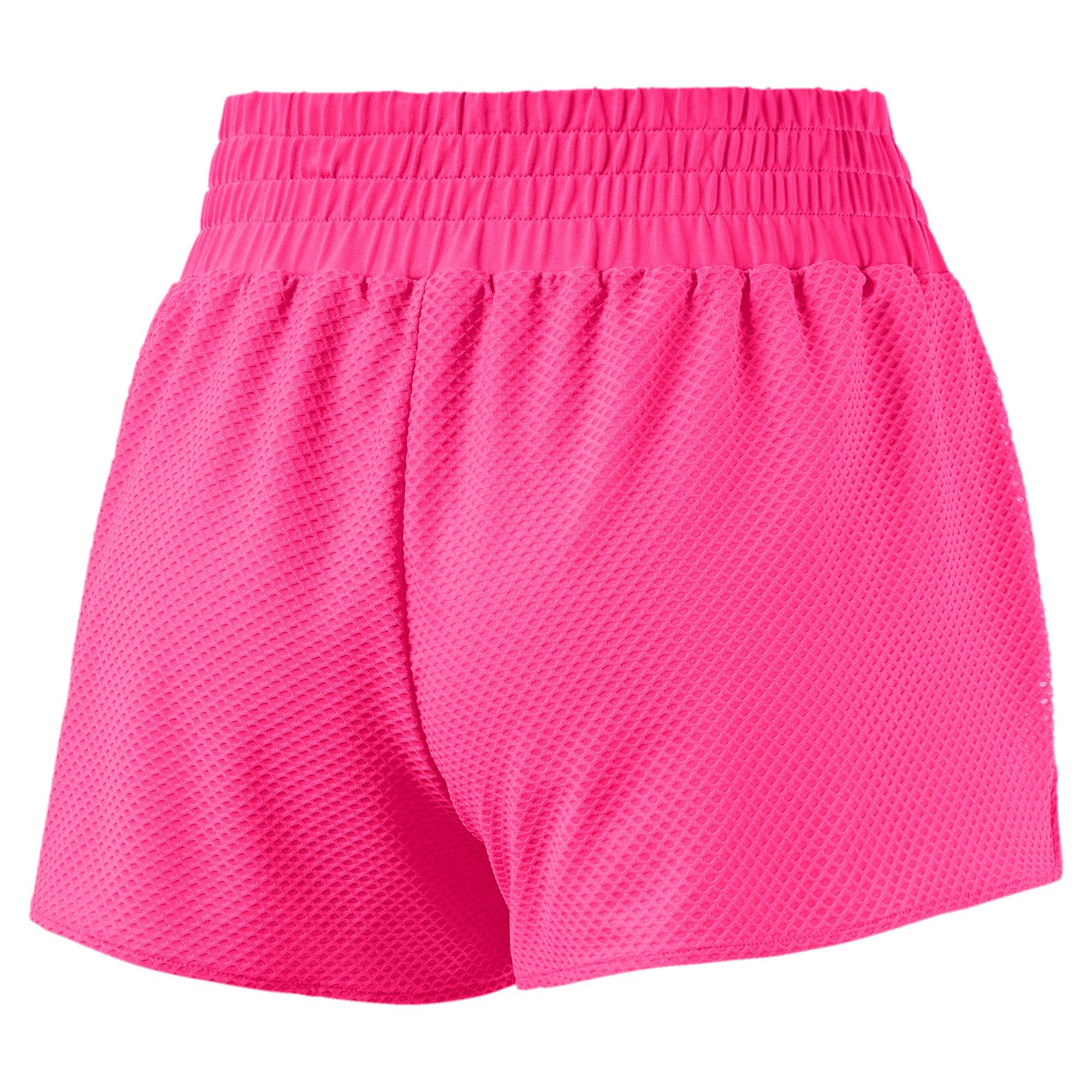 Thumbnail 4 of Active Training Women's Mesh Shorts, KNOCKOUT PINK, medium-IND