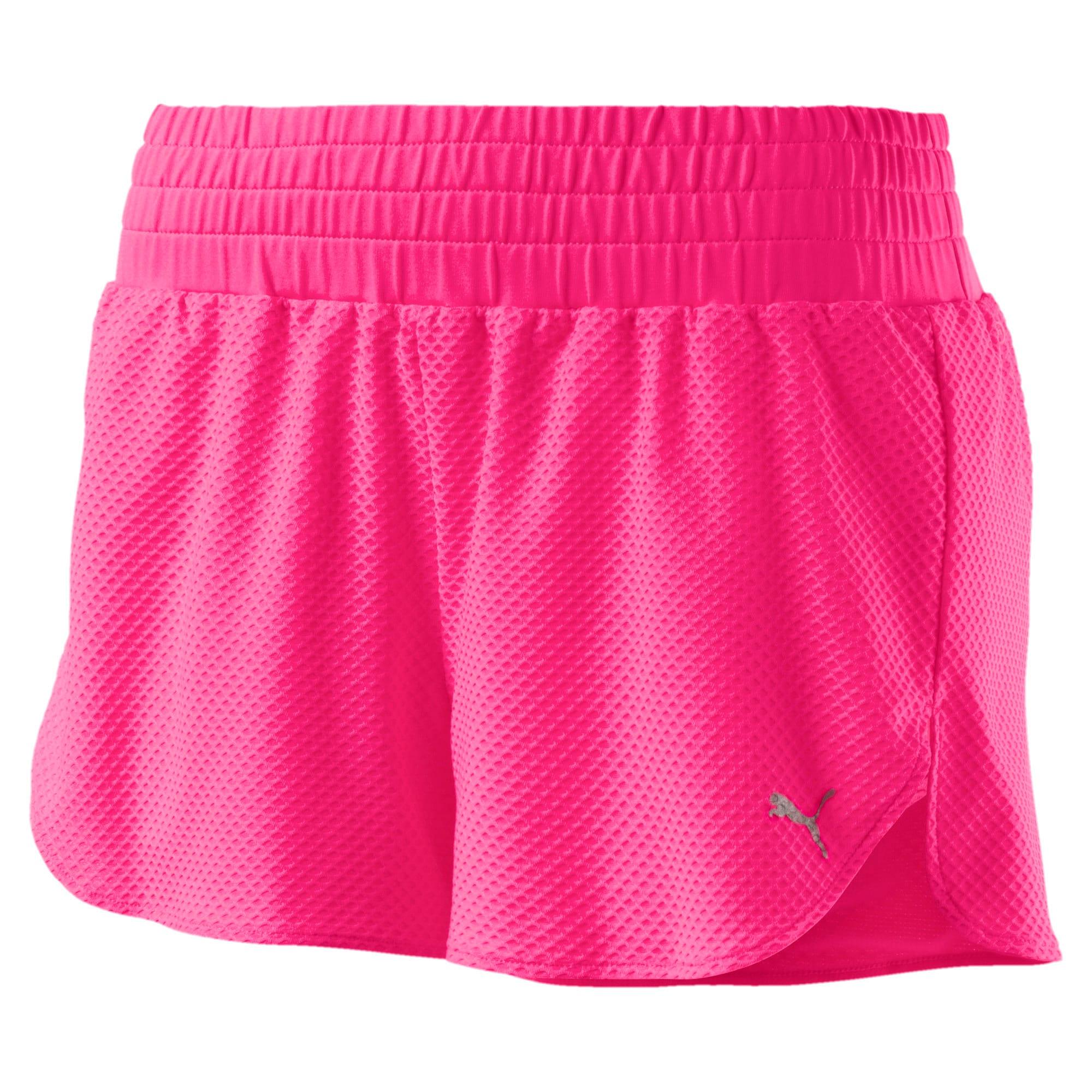 Thumbnail 3 of Active Training Women's Mesh Shorts, KNOCKOUT PINK, medium-IND